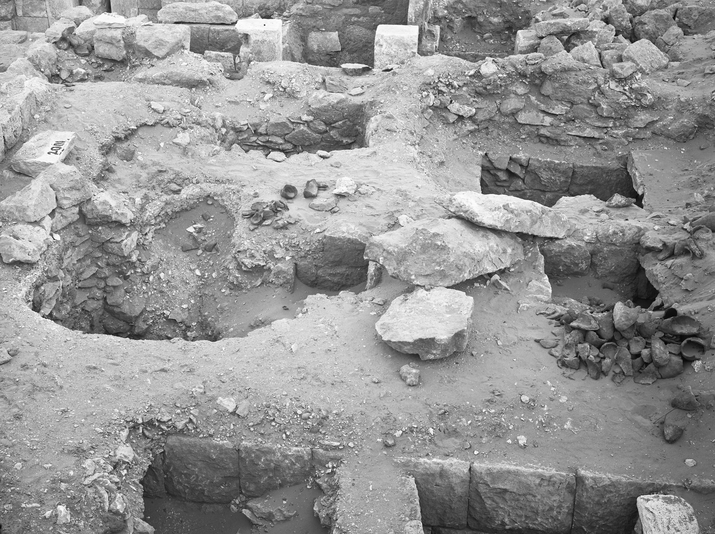 Western Cemetery: Site: Giza; View: G 2004