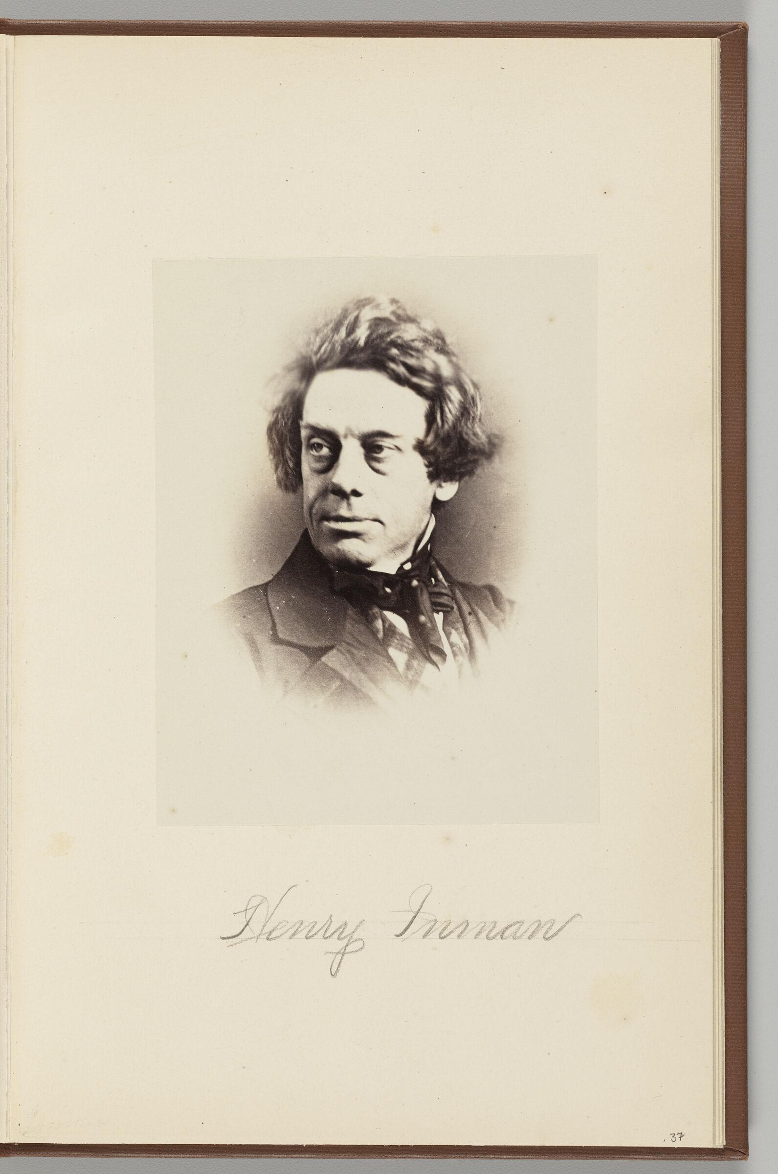 Henry Inman (1801-1846)