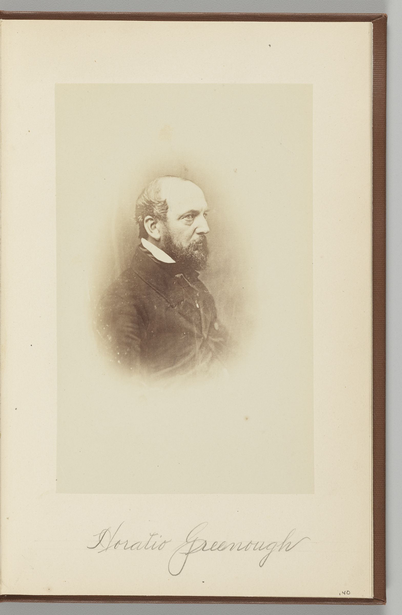 Horatio Greenough (1805-1852) [From A Daguerreotype]