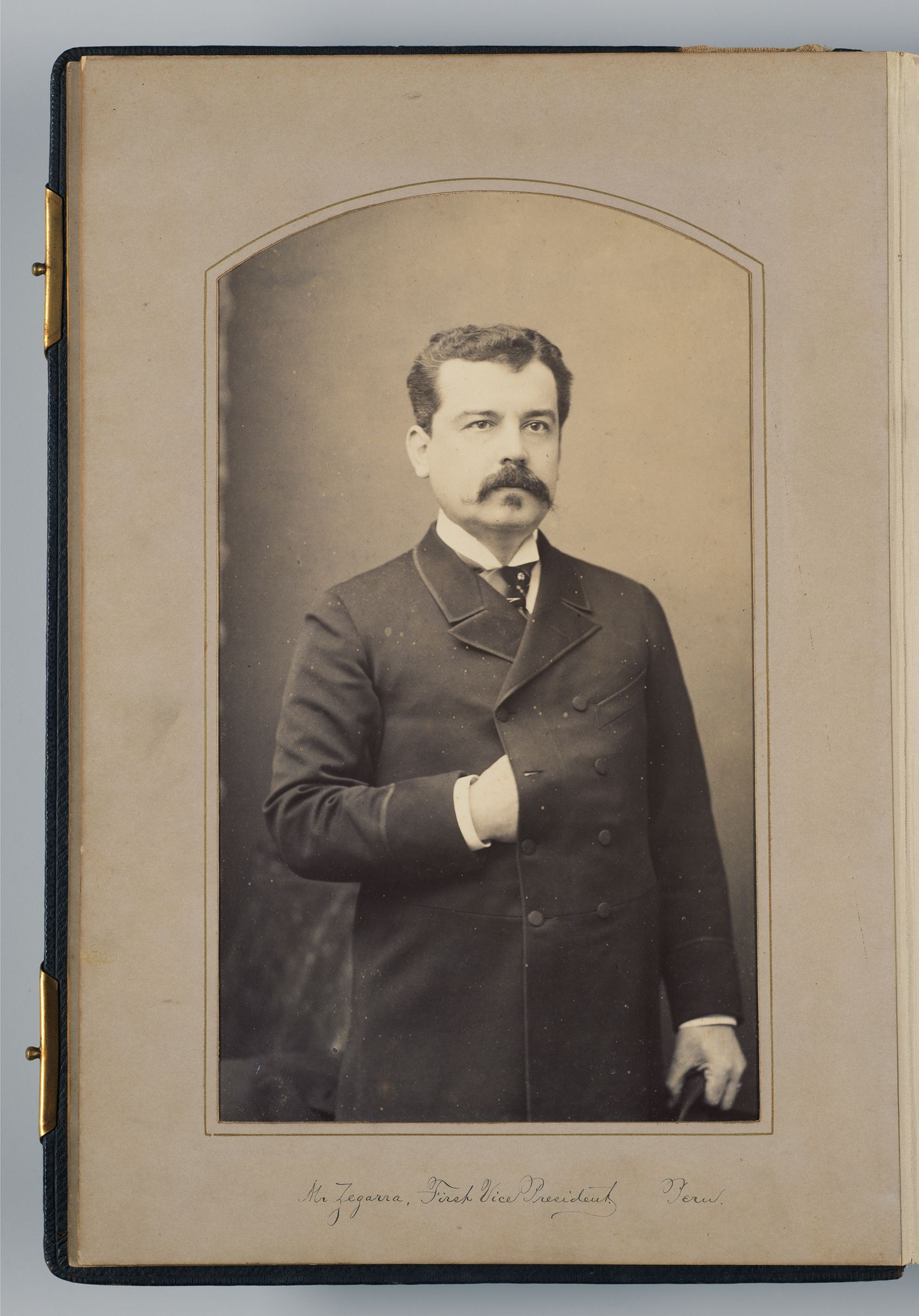 Felix Cipriano C. Zegarra (Envoy Extraordinary And Minister Plenipoteniary And First Vice President Of Peru)