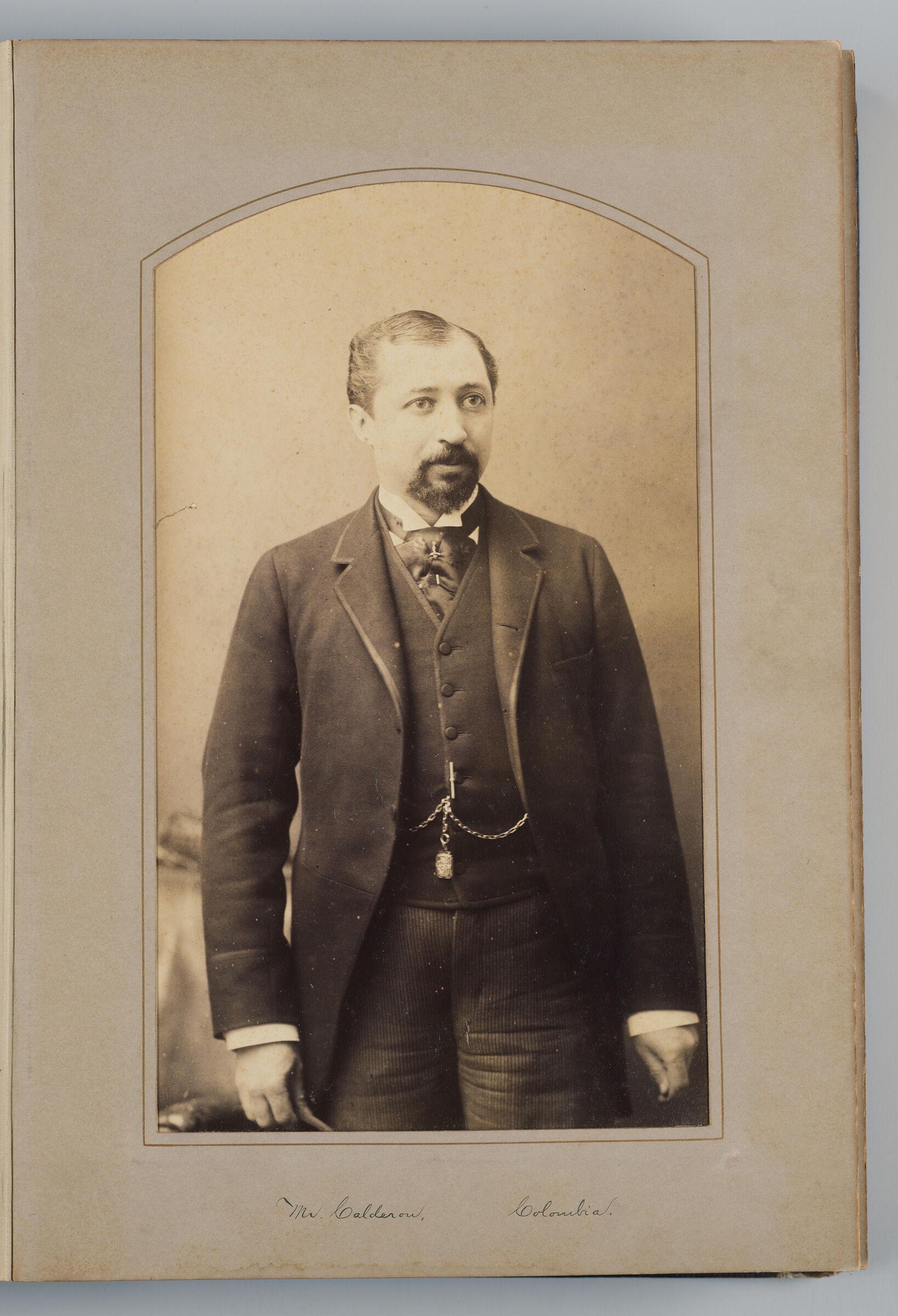 Clinaco Calderón (Columbian Delegate)