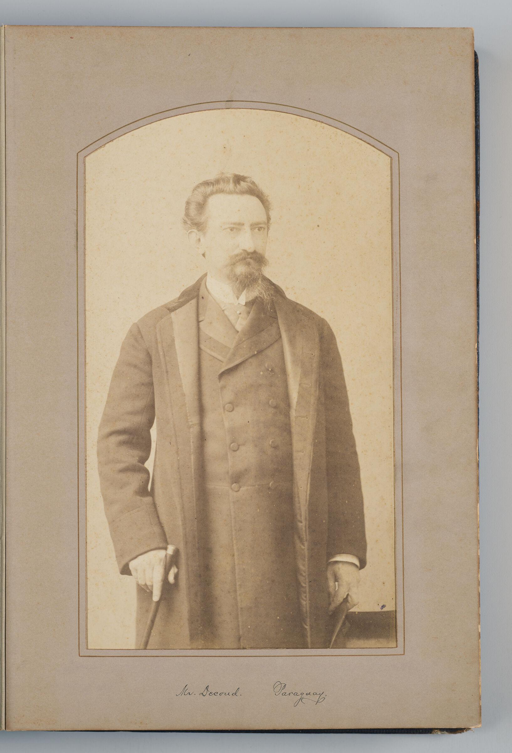 José S. Decoud (Paraguayian Delegate)