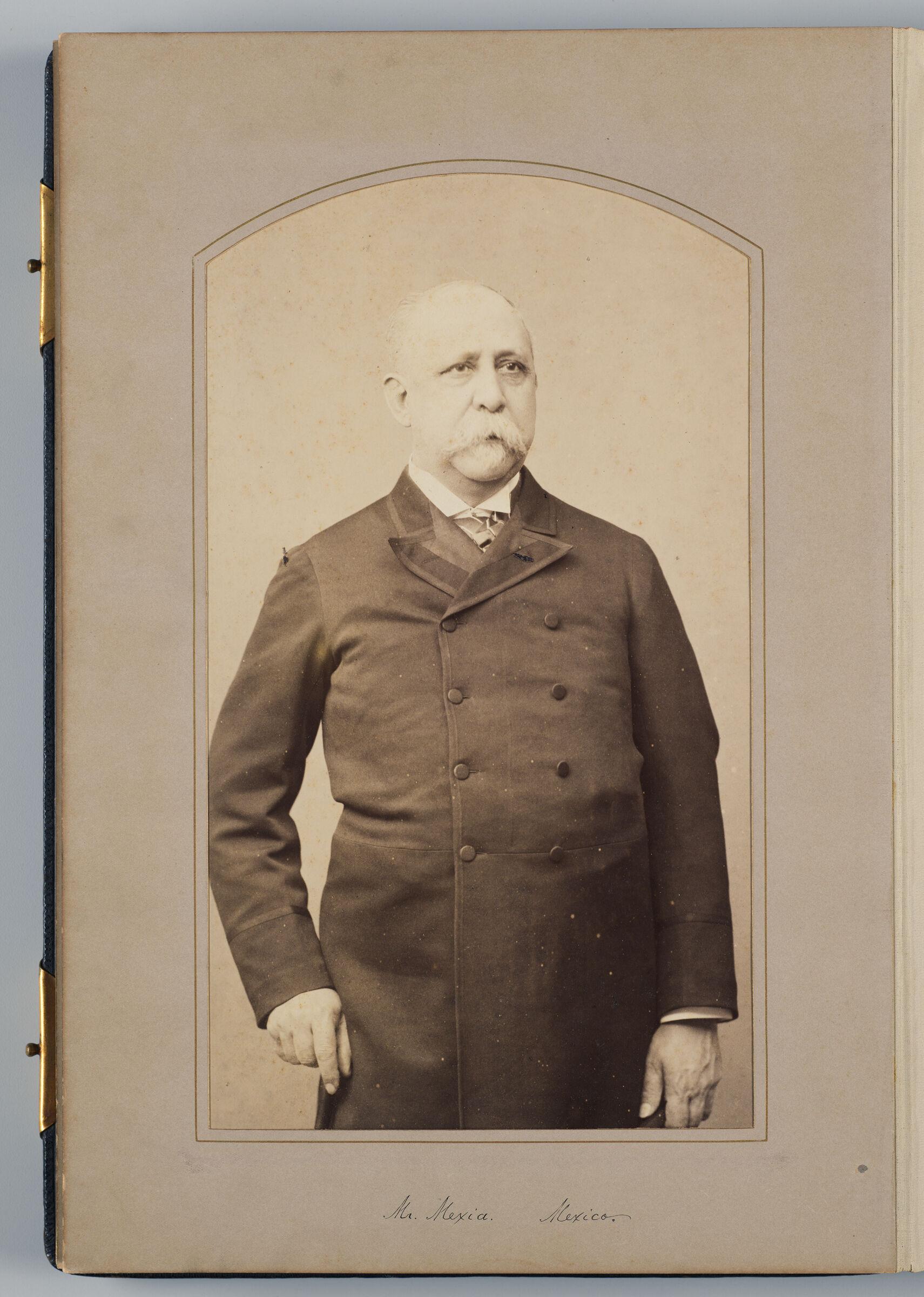 Gral Enrique A. Mexia (Mexican Delegate)