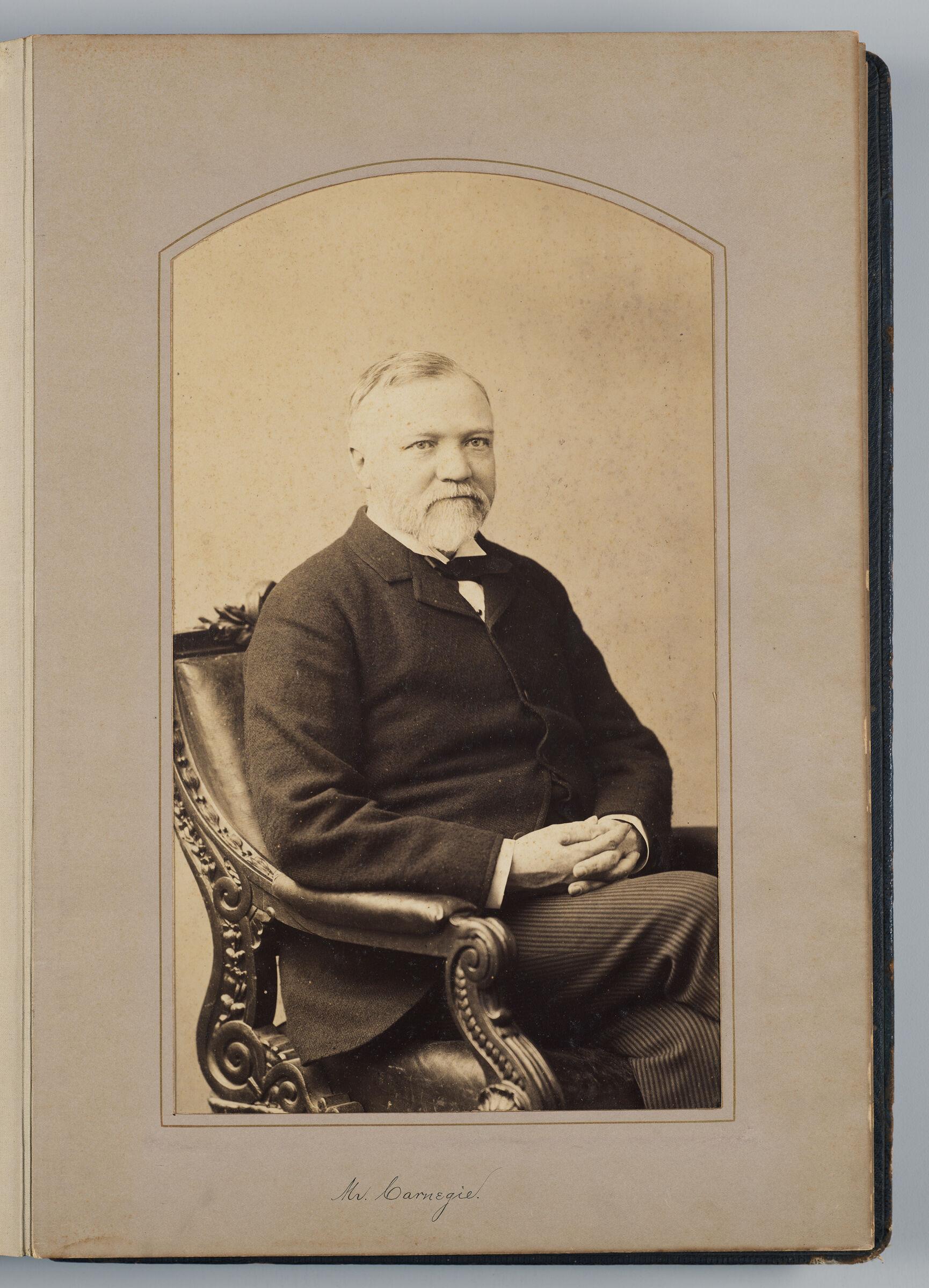 Andrew Carnegie (U.s. Delegate)