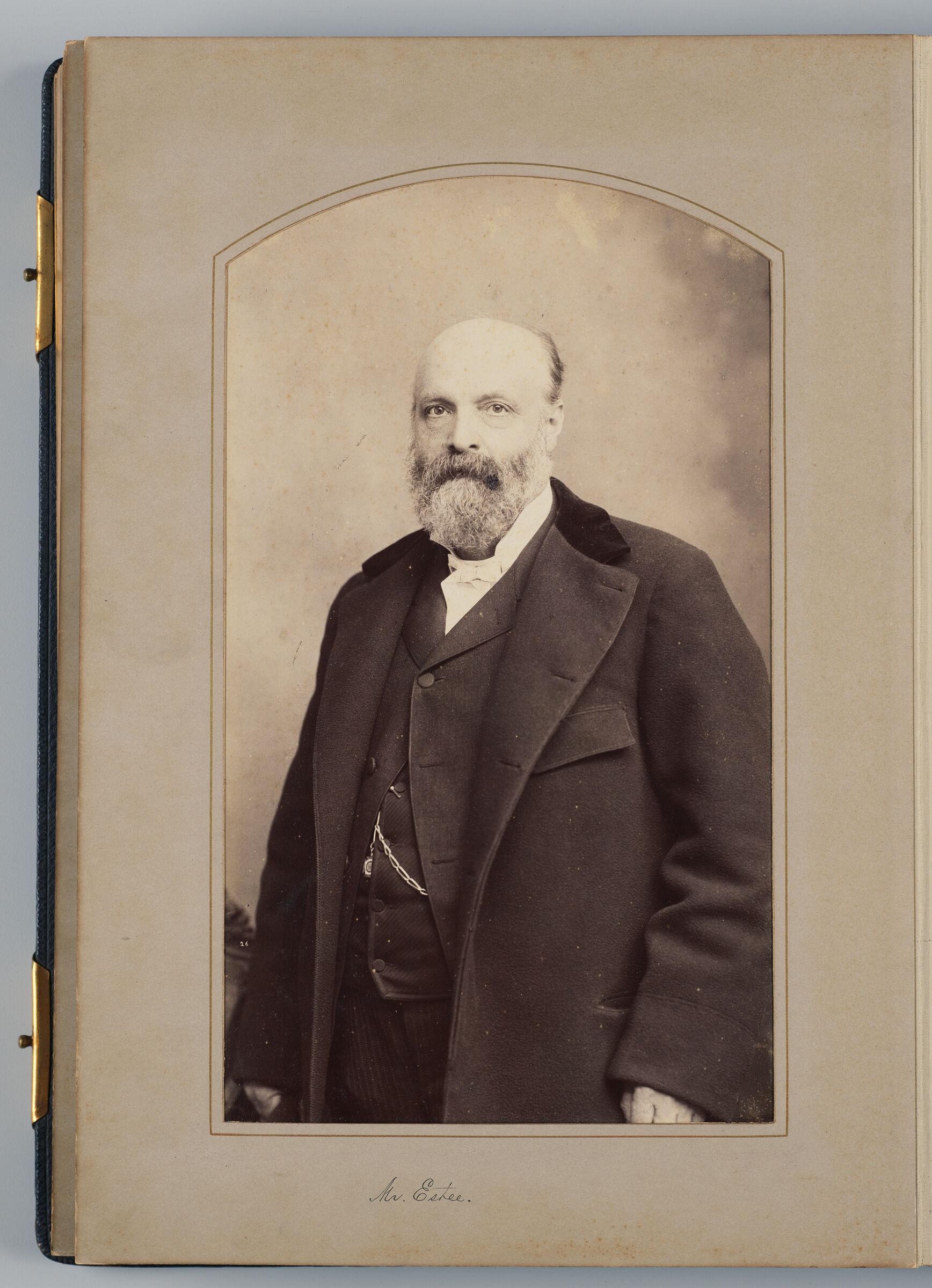 Morris M. Estee (U.s. Delegate)