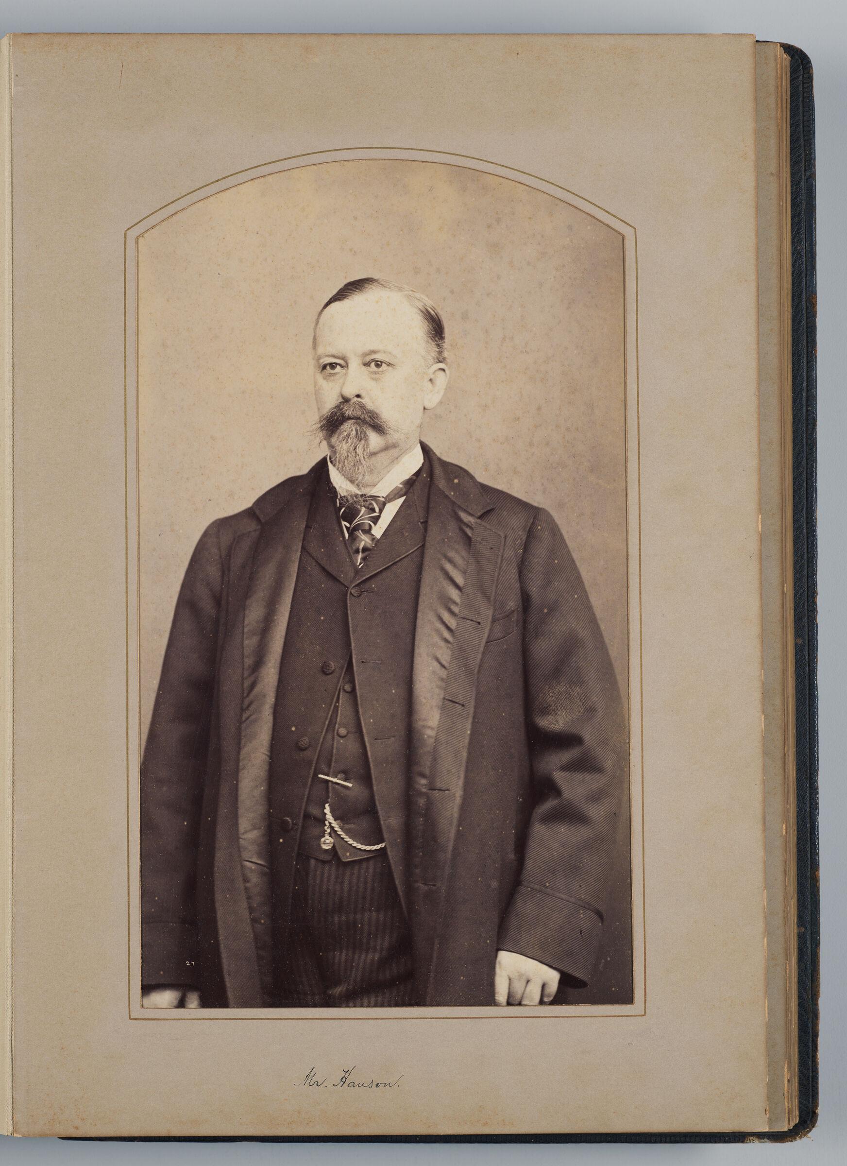 John E. Hanson (U.s. Delegate)