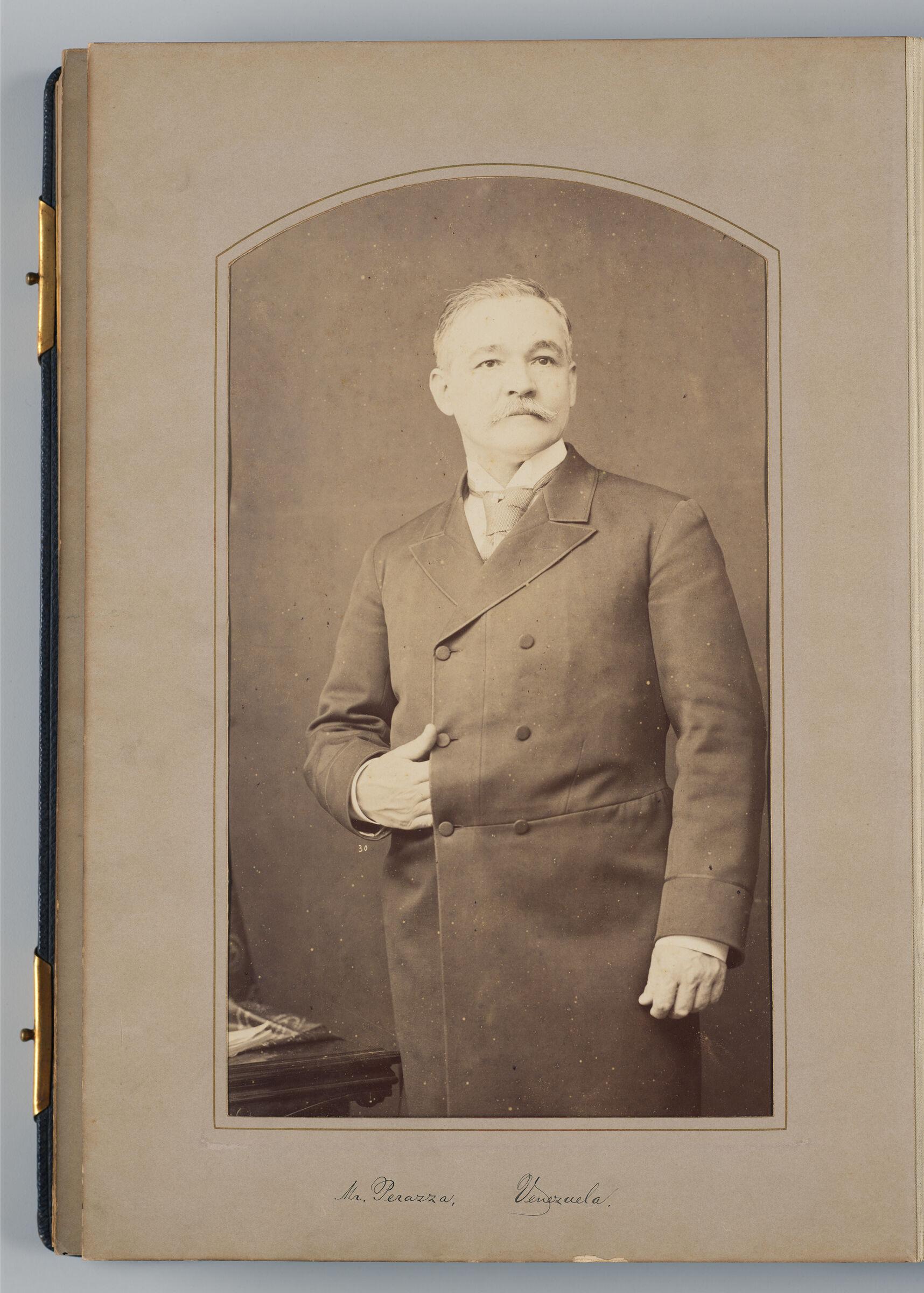 N. Bolet Peraza (Veneuzelan Delegate)