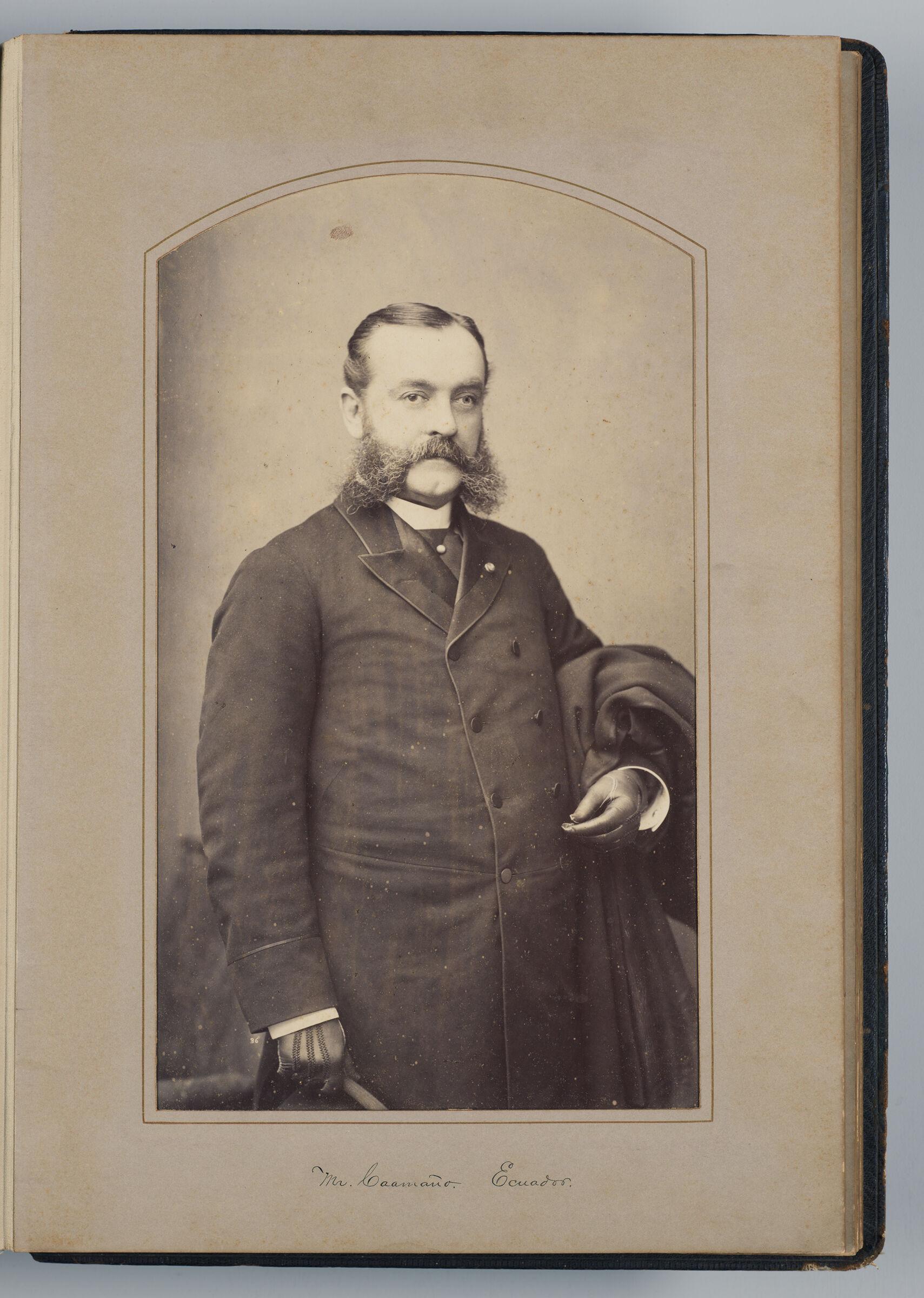 J.m.p. Caamaño (Ecuadoran Delegate)