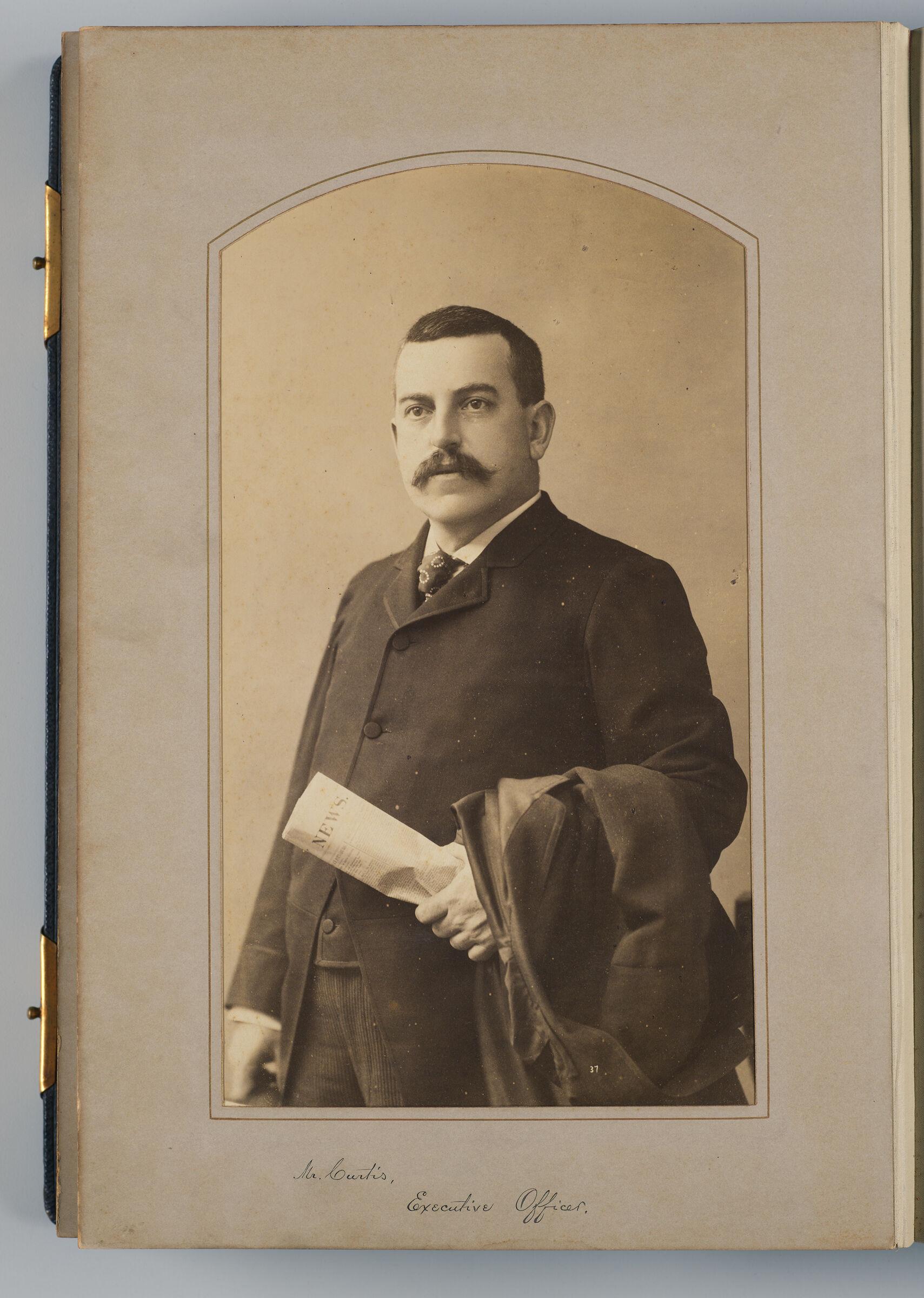 William E. Curtis (Executive Officer)