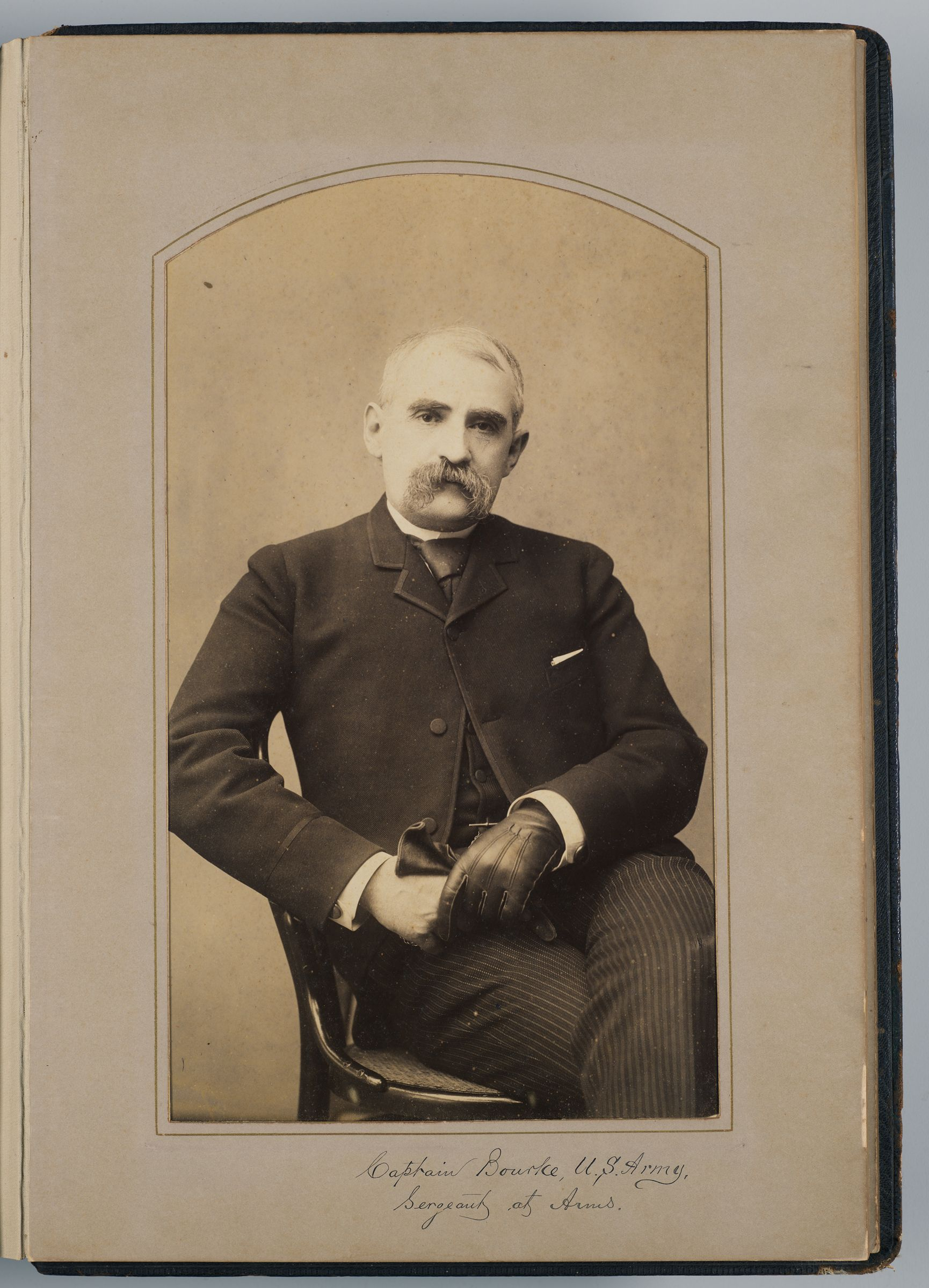 John G. Bourke (U.s. Army Sargent At Arms)