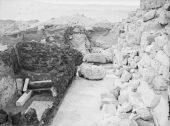 Menkaure Pyramid Complex: Site: Giza; View: G III-a temple, G III-a