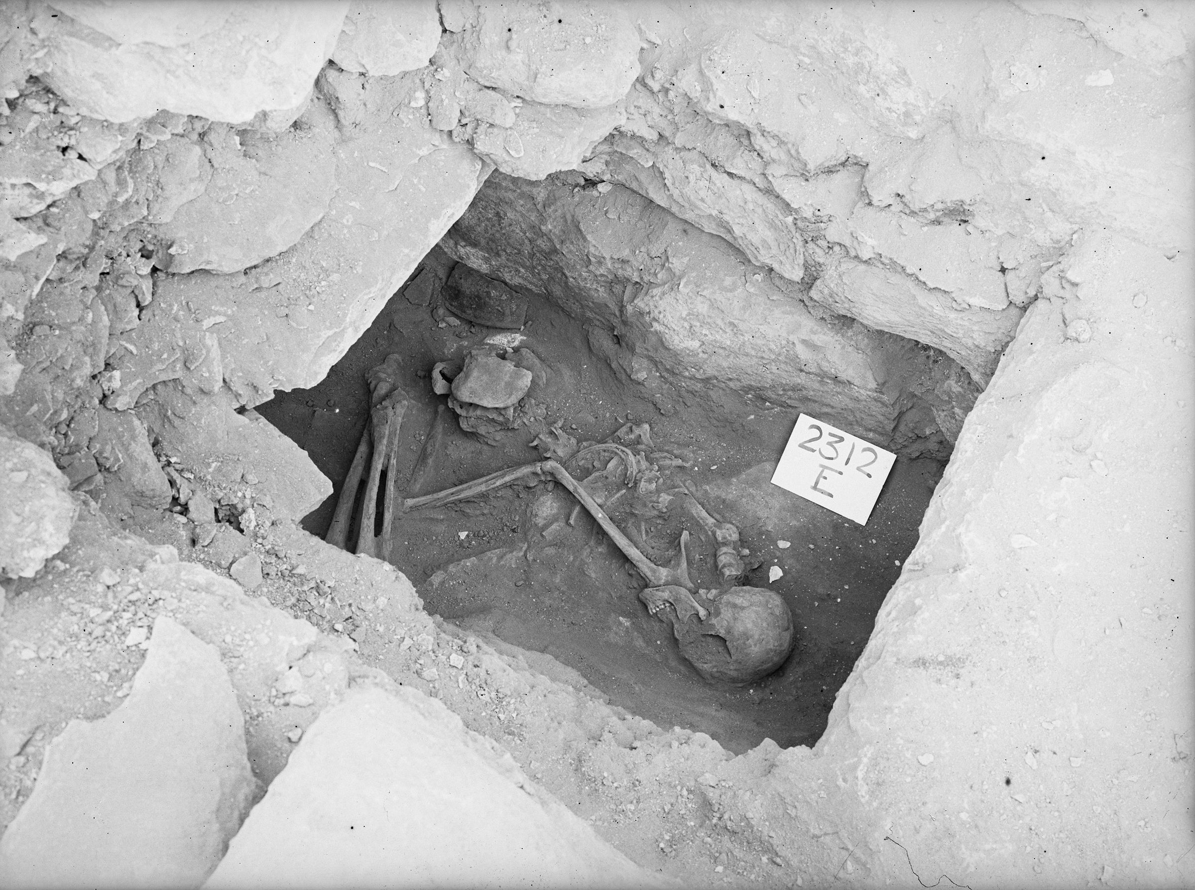 Western Cemetery: Site: Giza; View: G 2312