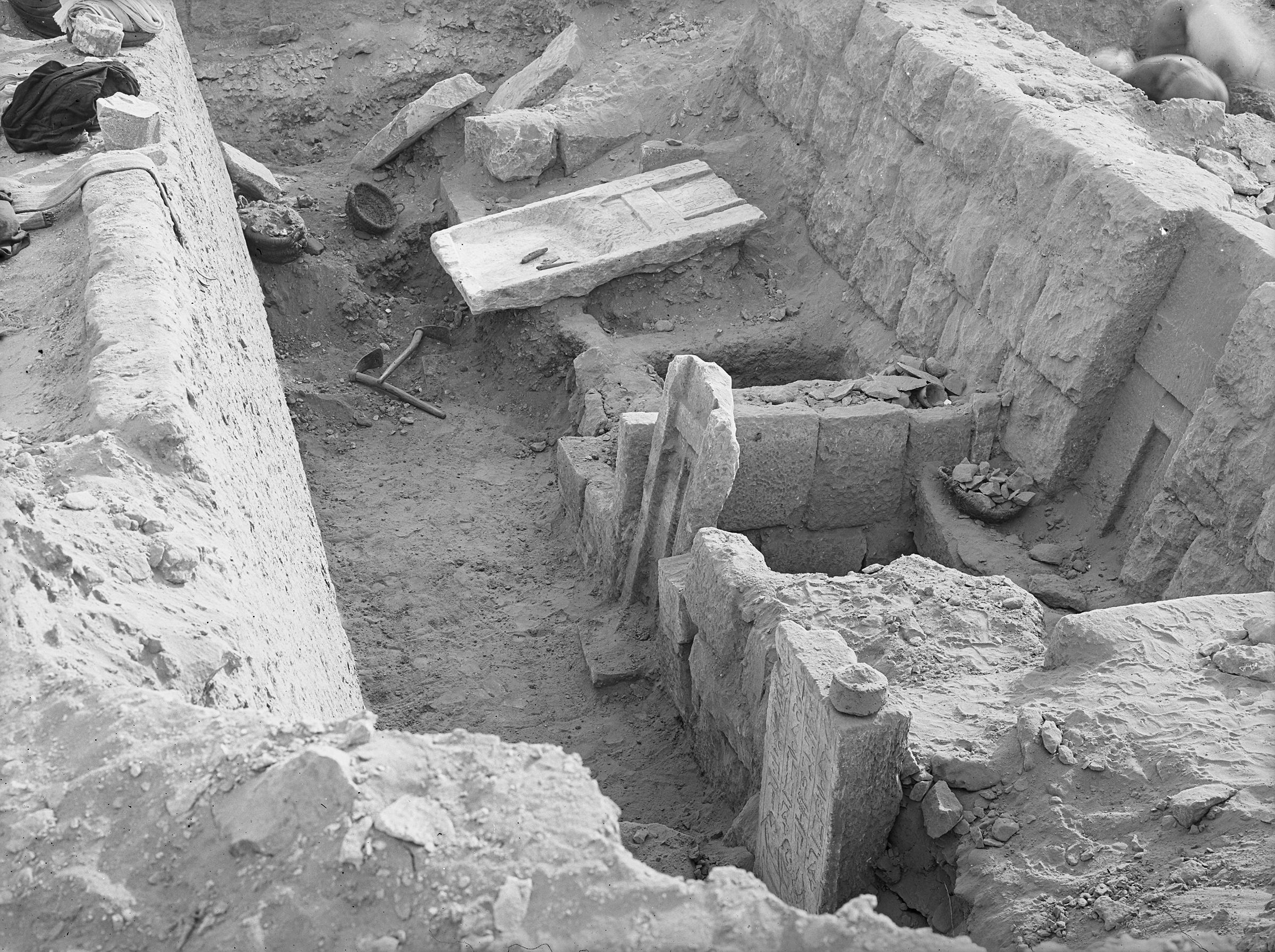 Western Cemetery: Site: Giza; View: G 2364, G 2363, G 2362, G 2360