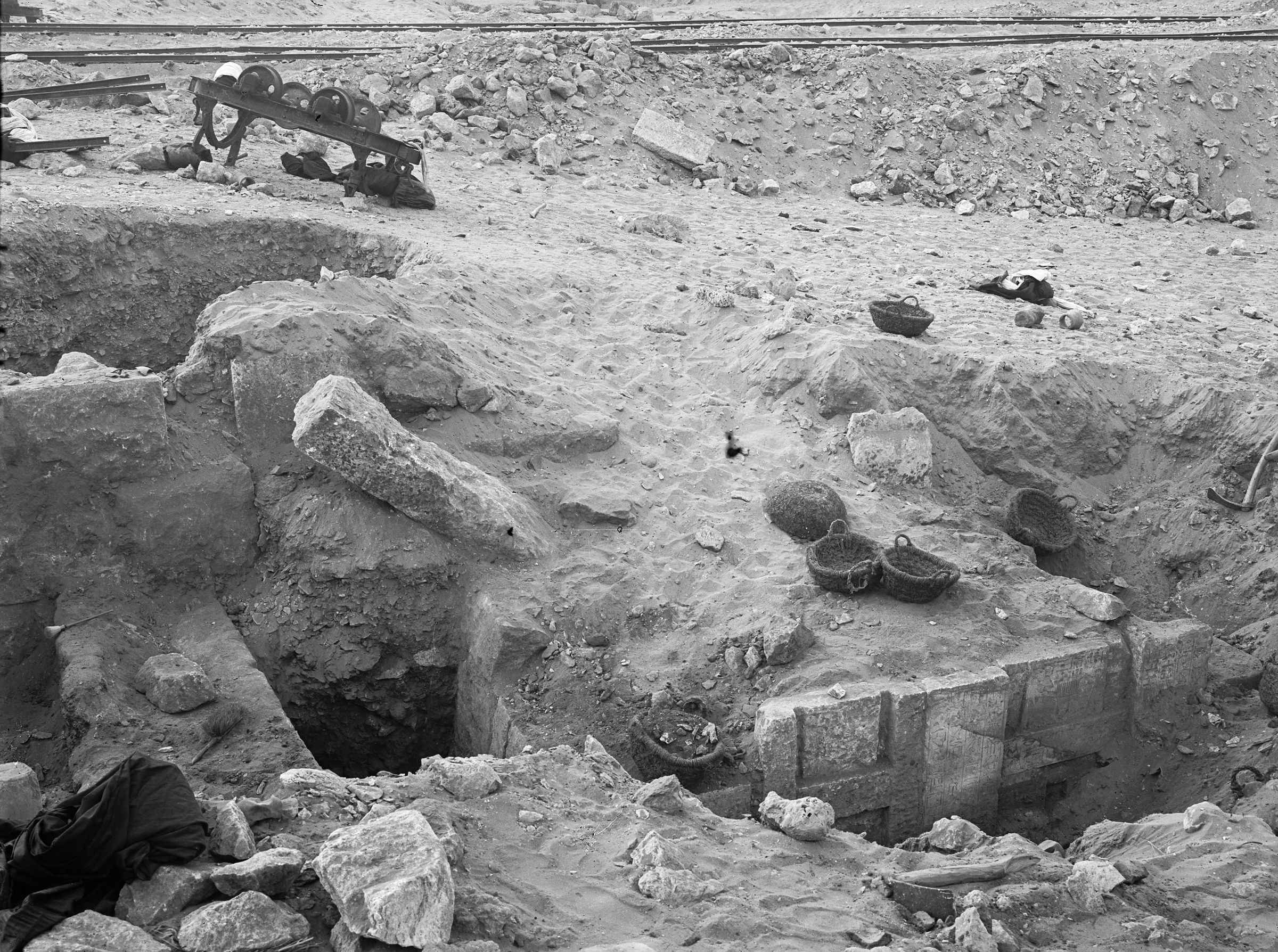 Western Cemetery: Site: Giza; View: G 2365, G 2366, G 2360