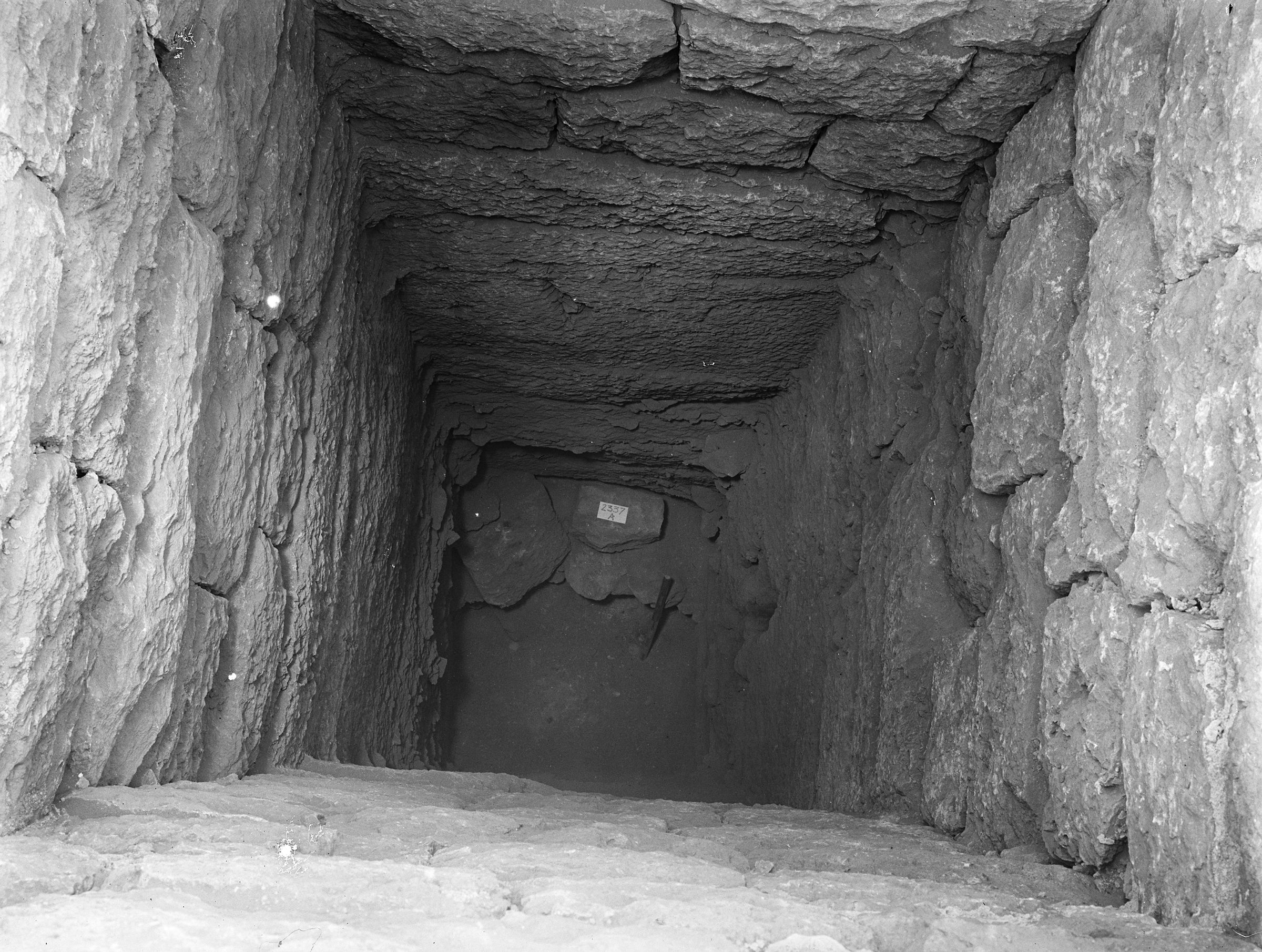 Western Cemetery: Site: Giza; View: G 2337