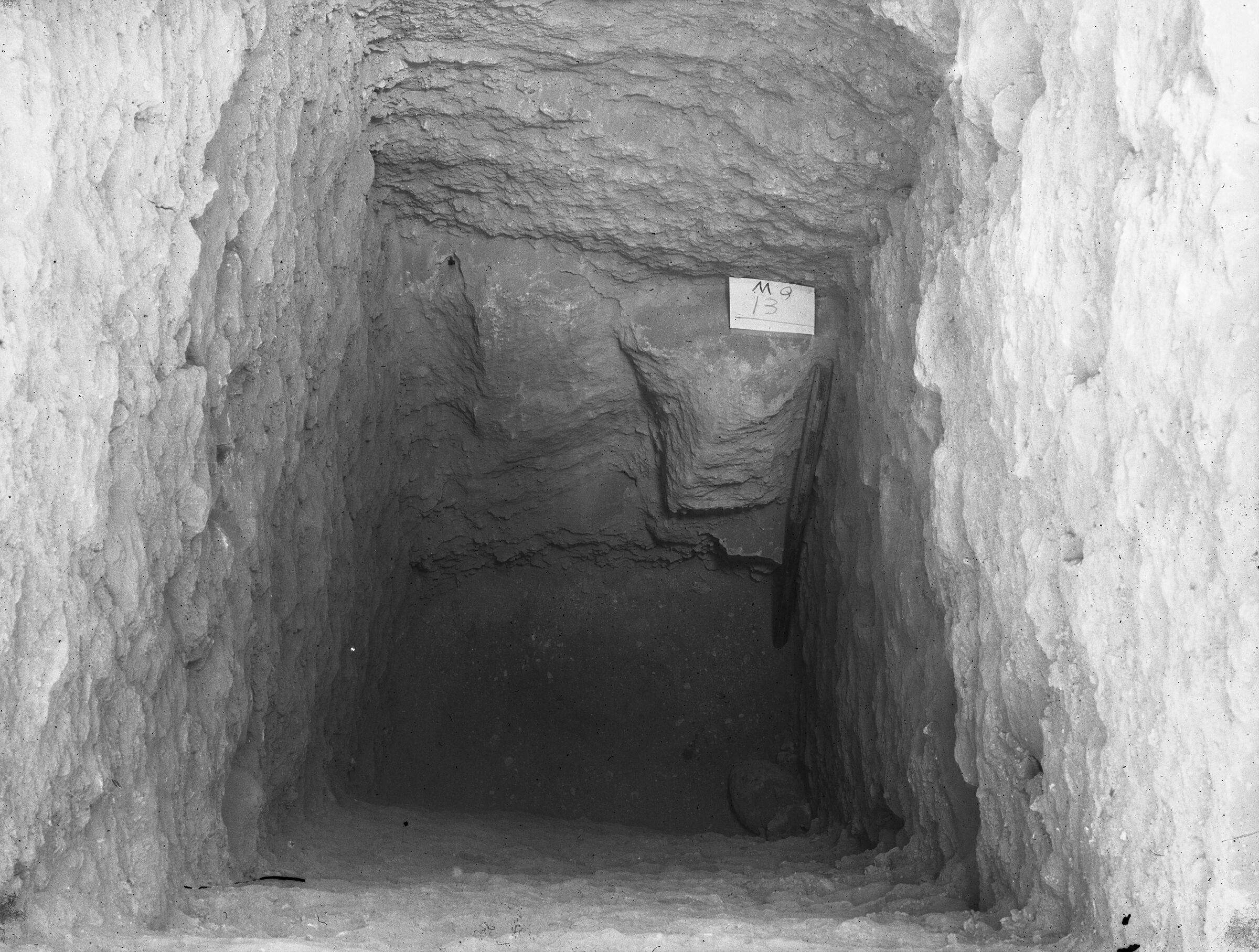 Menkaure Quarry Cemetery: Site: Giza; View: MQ 13