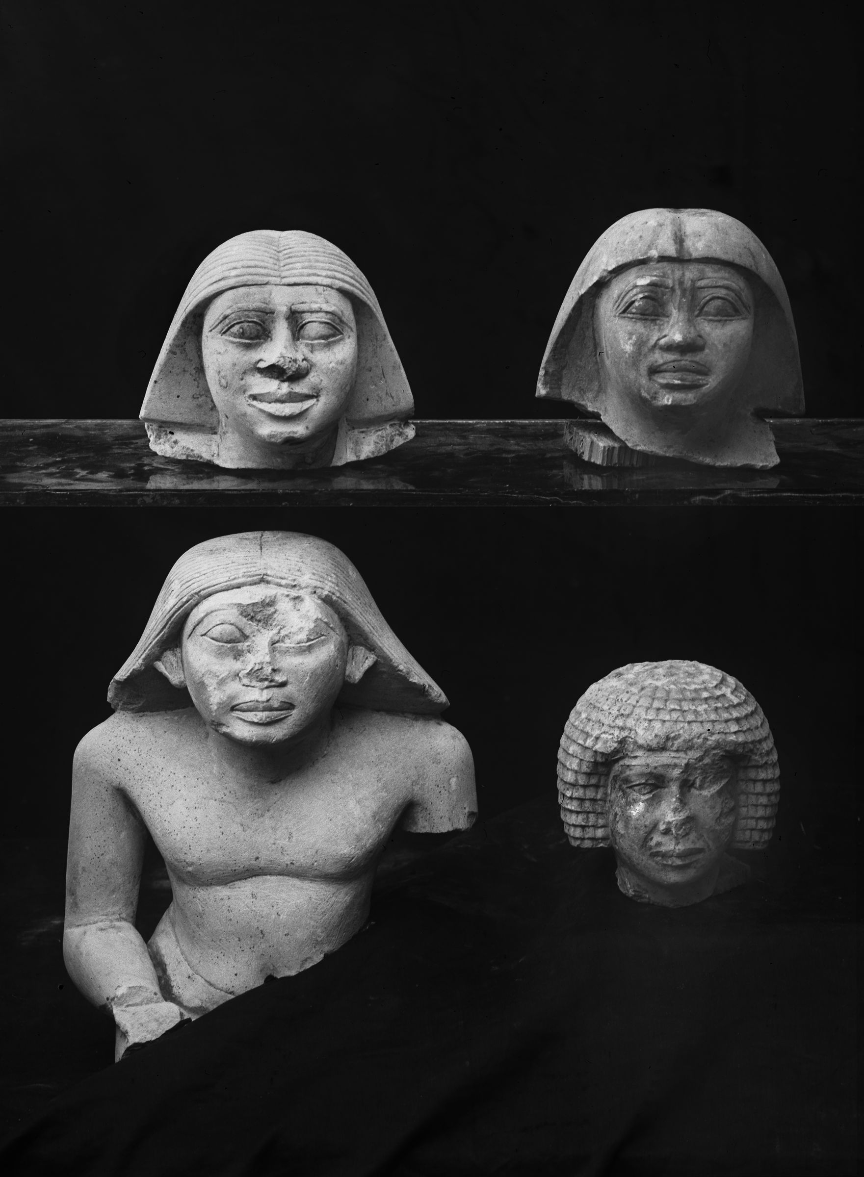 Object(s) photograph: Site: Giza; view: G 2381, G 2382, G 2320 = G 5280