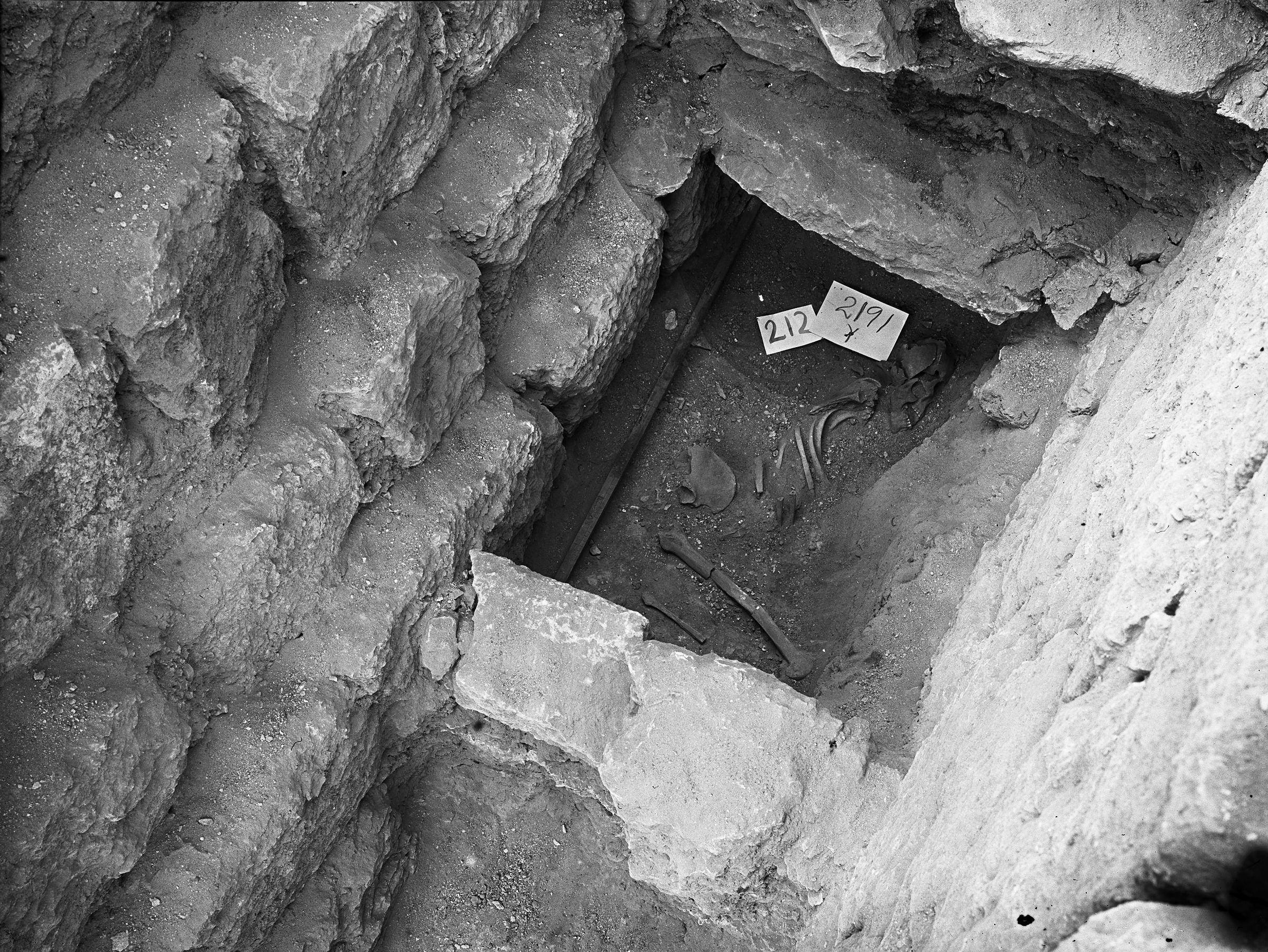 Western Cemetery: Site: Giza; View: G 2191