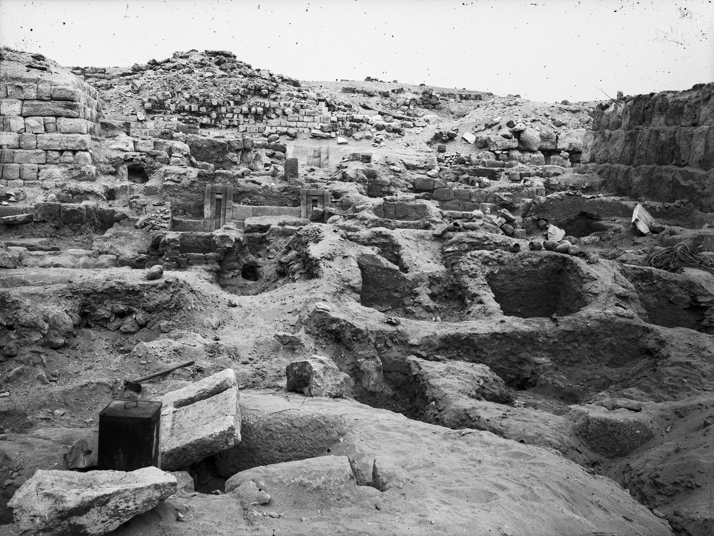 Western Cemetery: Site: Giza; View: G 2154, G 2153, G 2152, G 2151