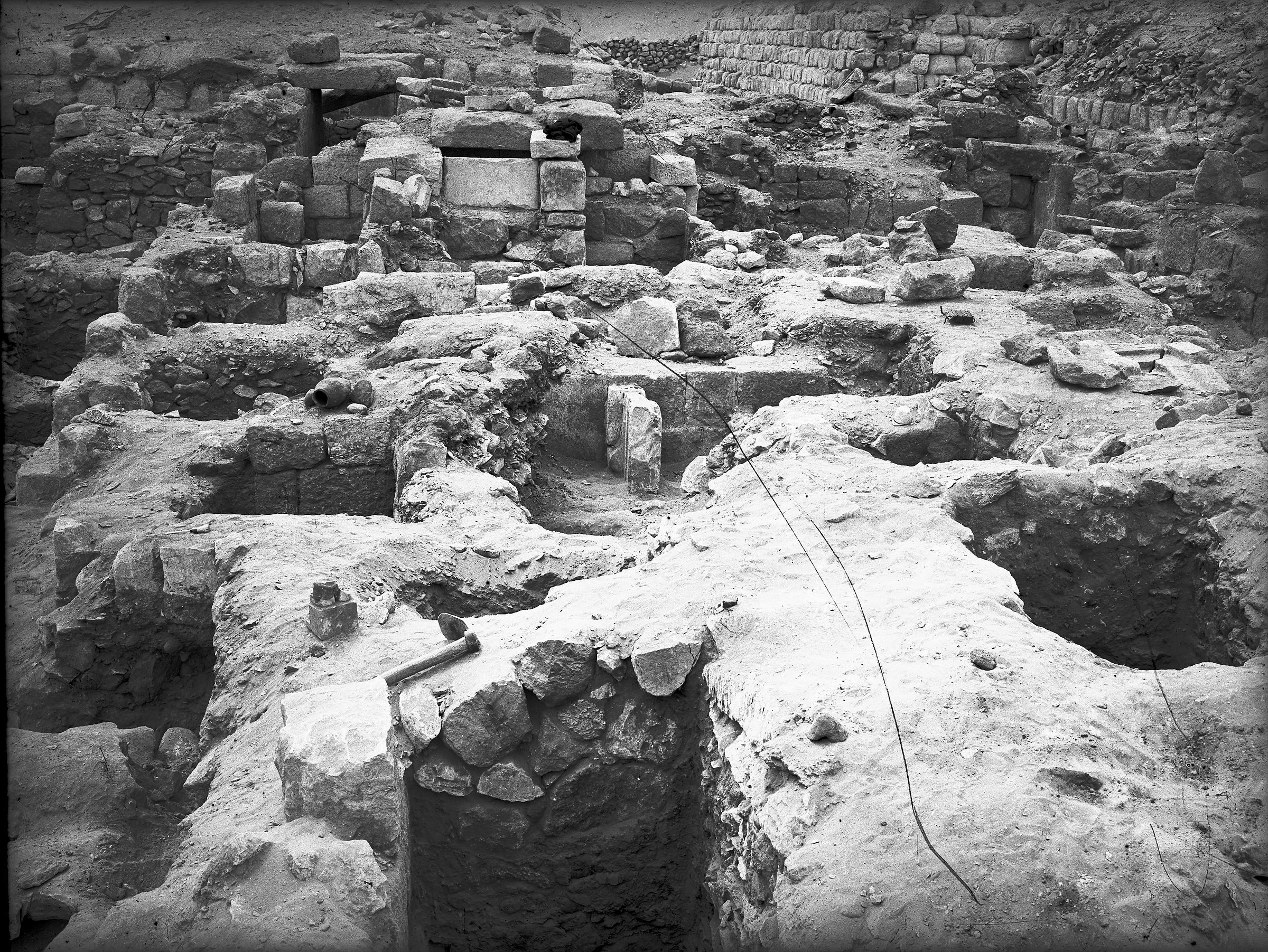 Western Cemetery: Site: Giza; View: G 2177, G 2175, G 2170, G 2231 X