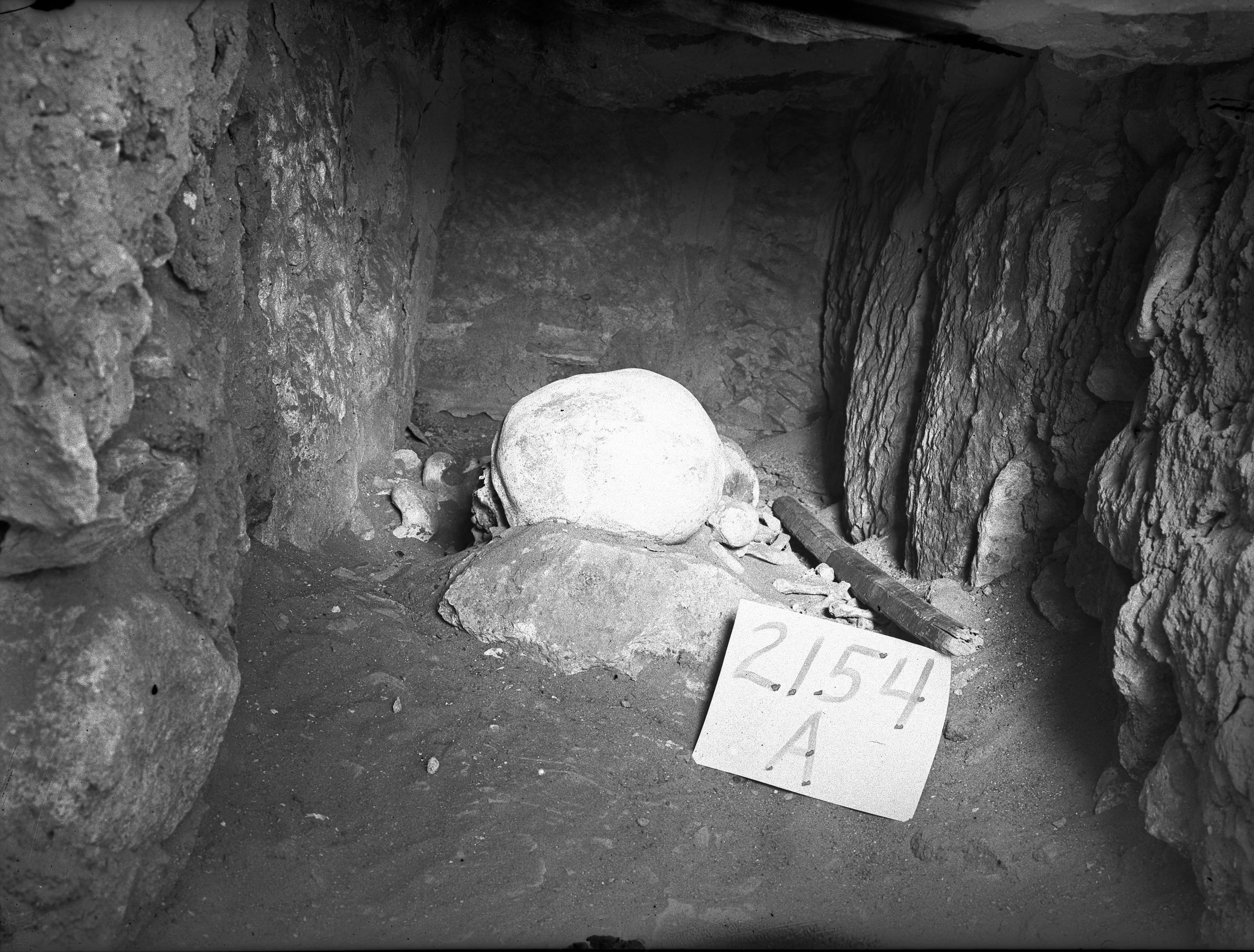 Western Cemetery: Site: Giza; View: G 2154