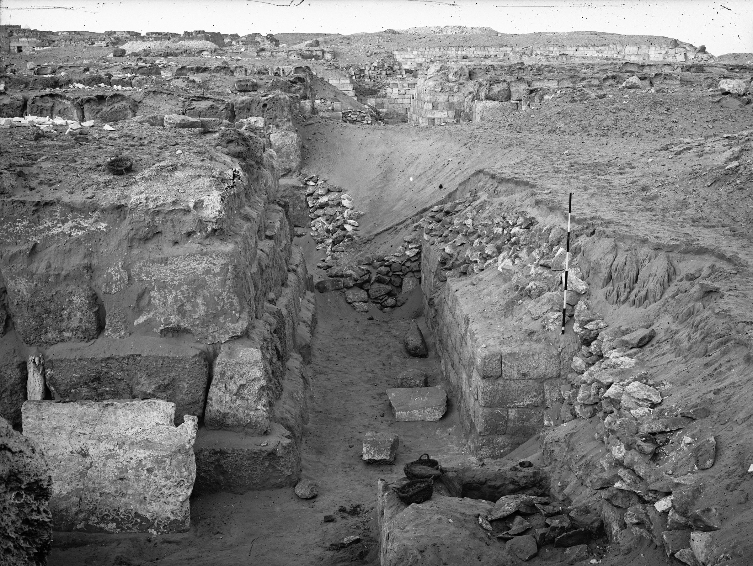 Western Cemetery: Site: Giza; View: G 4640, G 4650, G 4646