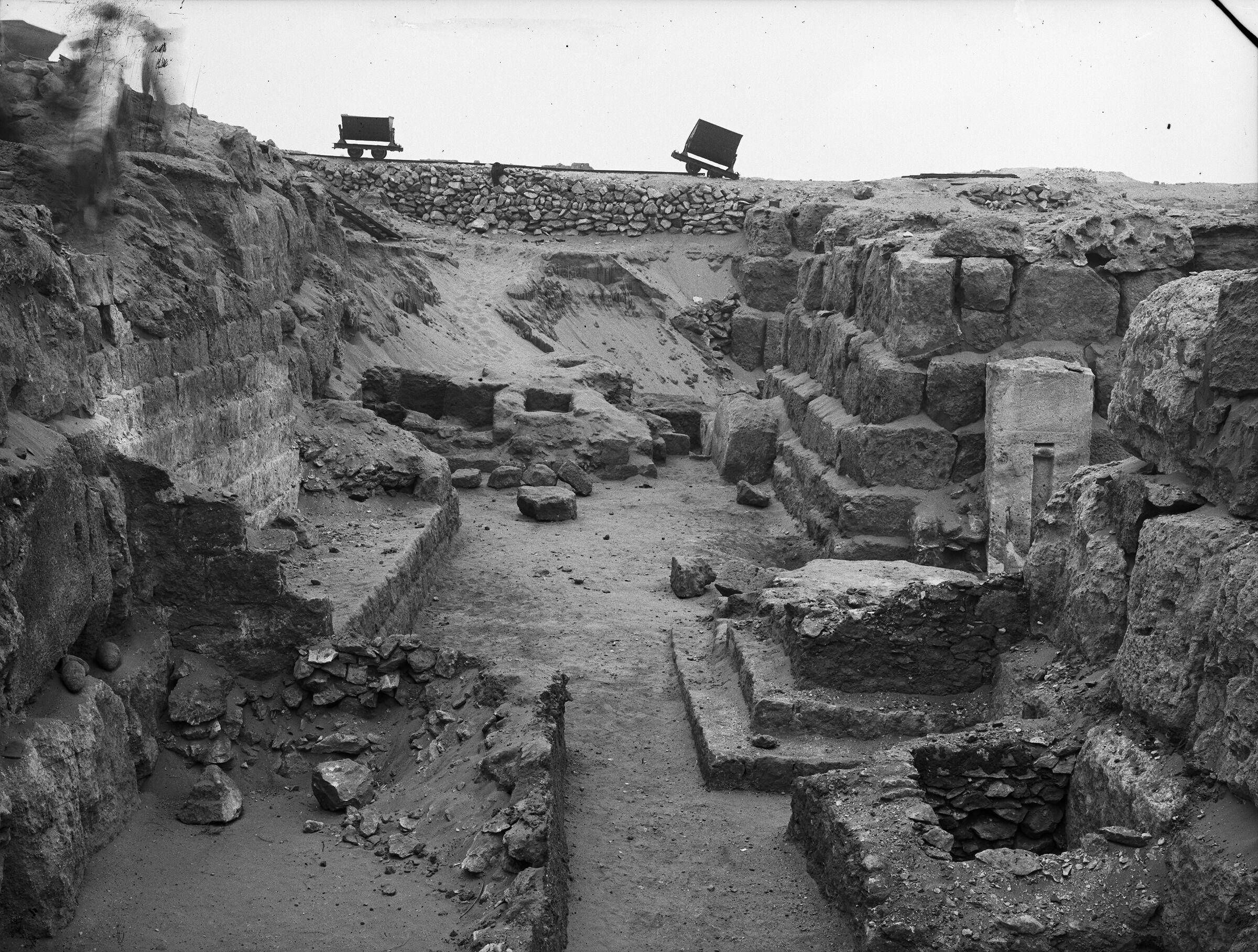 Western Cemetery: Site: Giza; View: G 4730, G 4740, G 4731, G 4641, G 4640, G 4633+4634