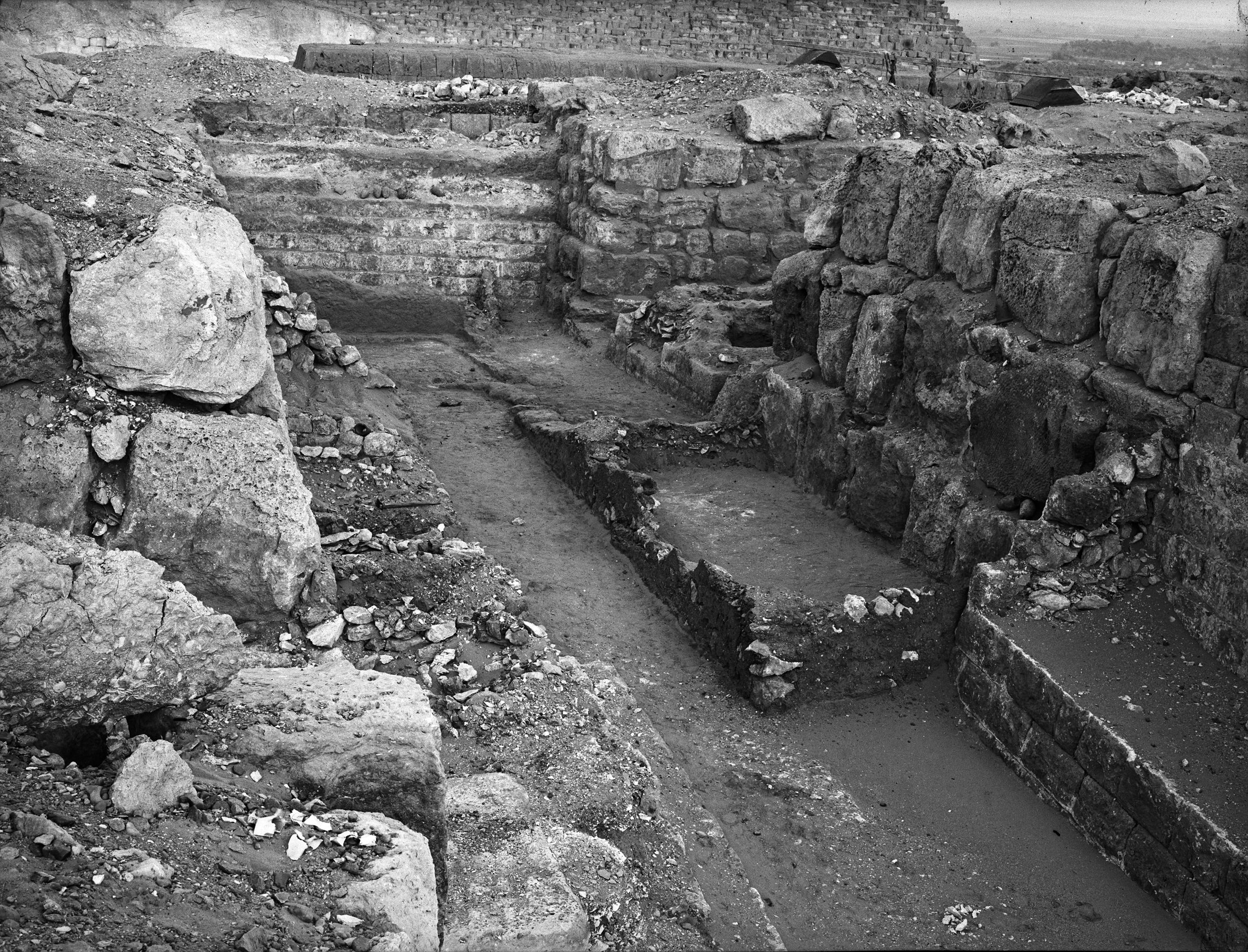 Western Cemetery: Site: Giza; View: G 4740, G 4730, G 4840, G 4830, G 4831