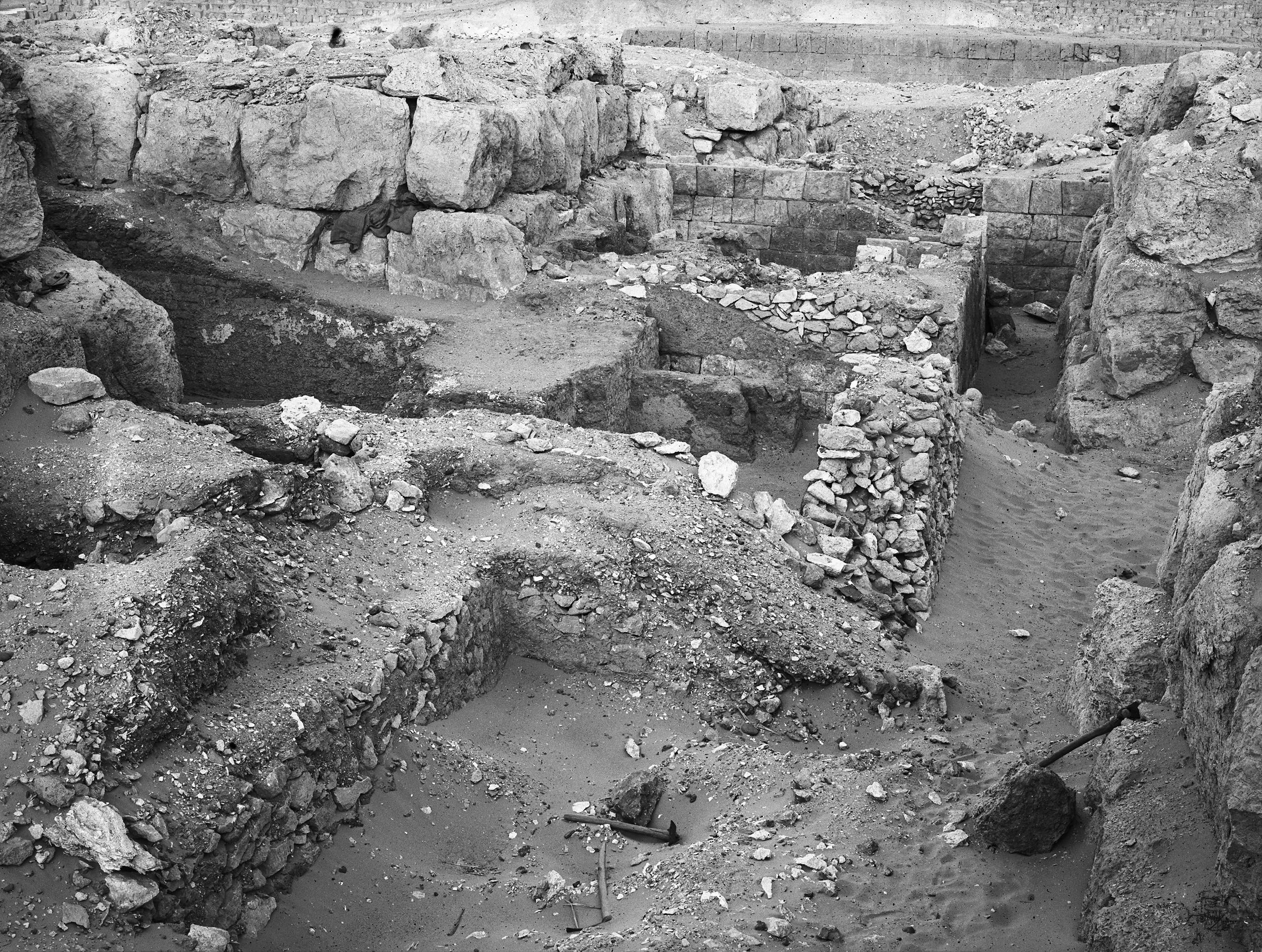 Western Cemetery: Site: Giza; View: G 4720, G 4730, G 4721, G 4733