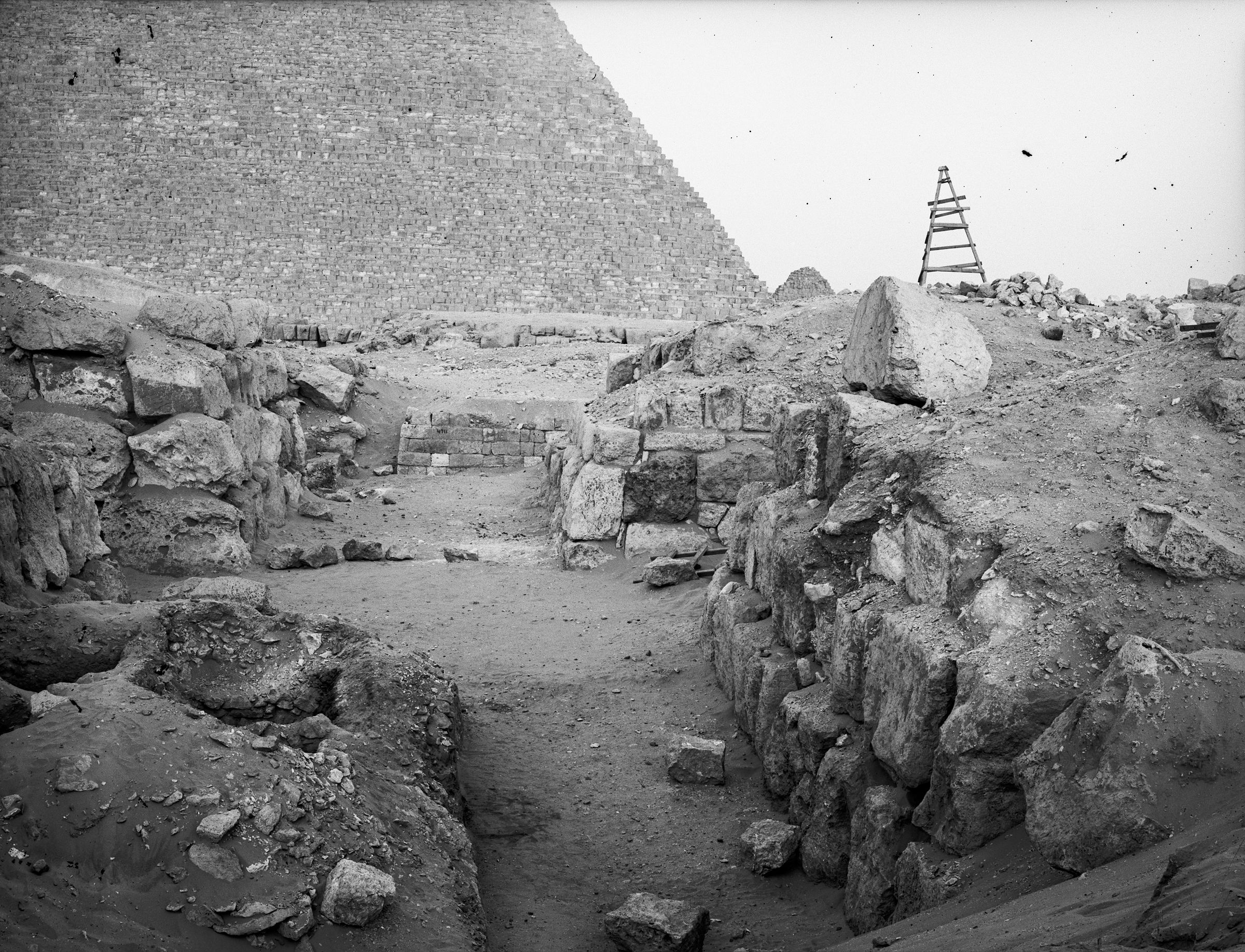 Western Cemetery: Site: Giza; View: G 4620, G 4610, G 4616
