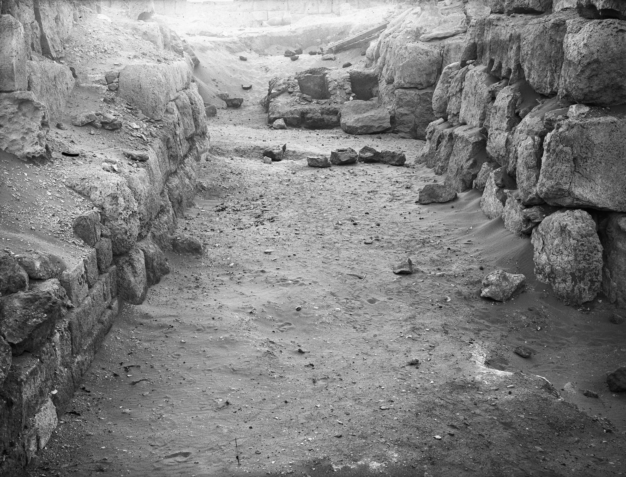 Western Cemetery: Site: Giza; View: G 4720, G 4710, G 4616, G 4620