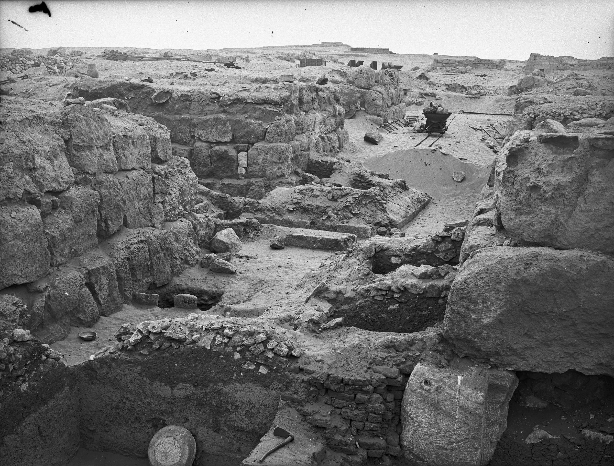 Western Cemetery: Site: Giza; View: G 4620, G 4630, G 4621, G 4623, G 4522, G 4521, G 4520