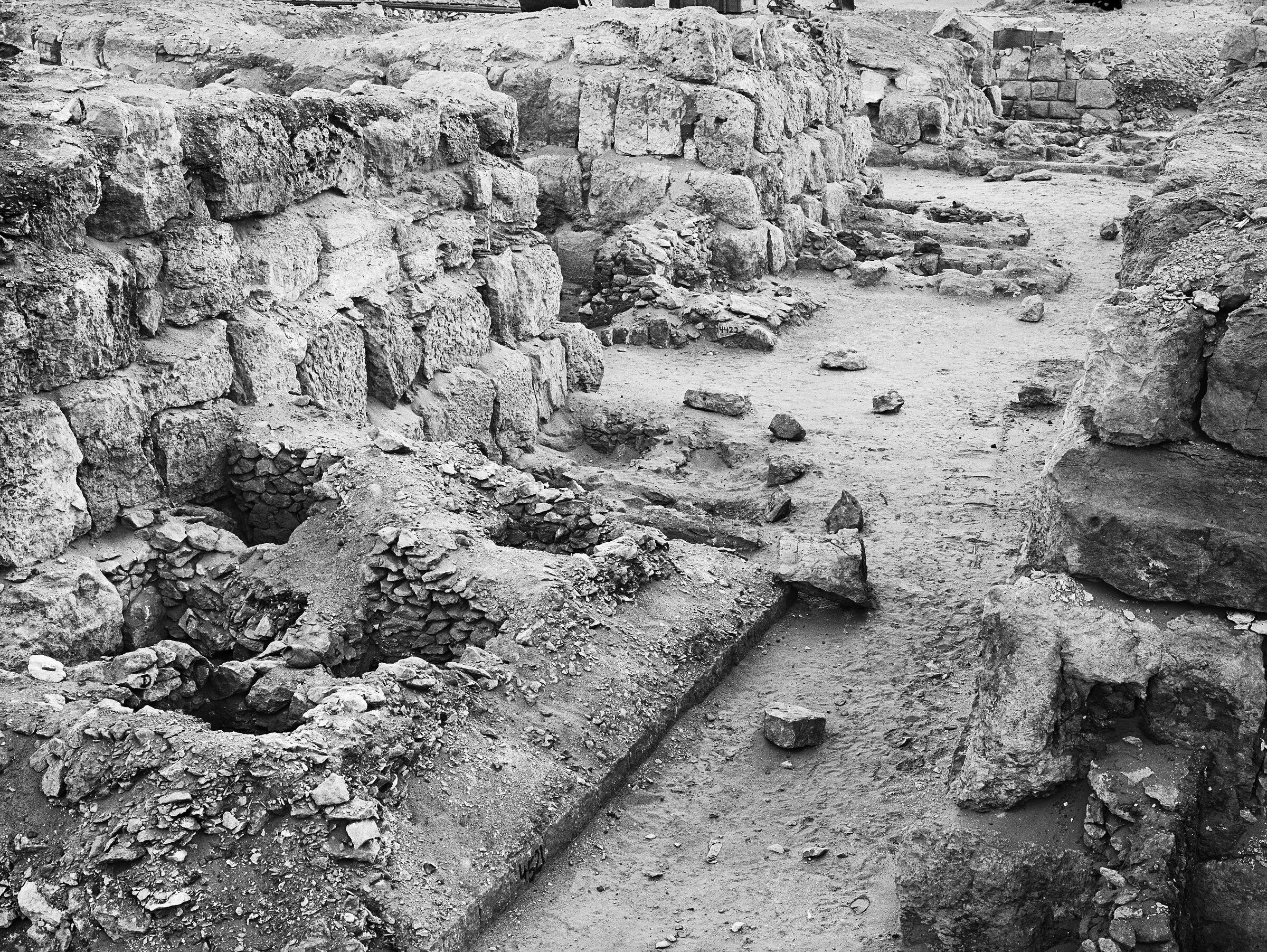 Western Cemetery: Site: Giza; View: G 4520, G 4530, G 4522, G 4521, G 4524