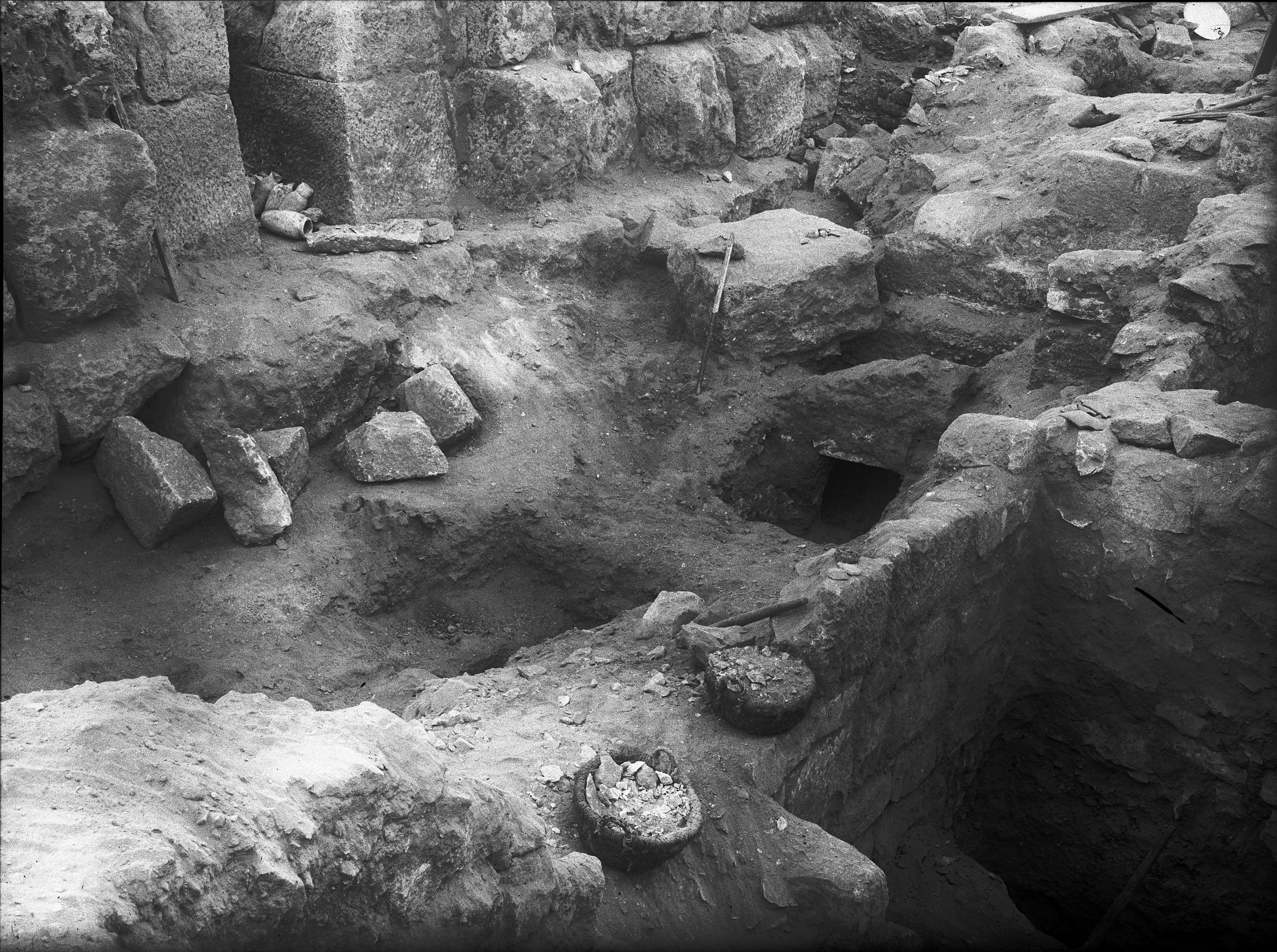 Western Cemetery: Site: Giza; View: G 5230, G 5221, G 5228, G 5229