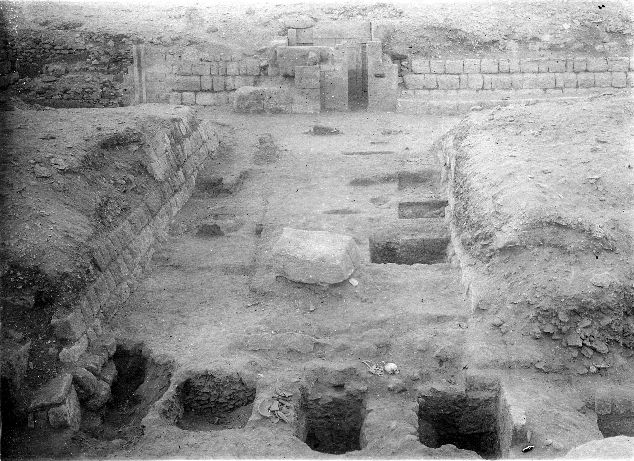 Western Cemetery: Site: Giza; View: G 5010, G 5020, G 5012, G 5011, G 4920
