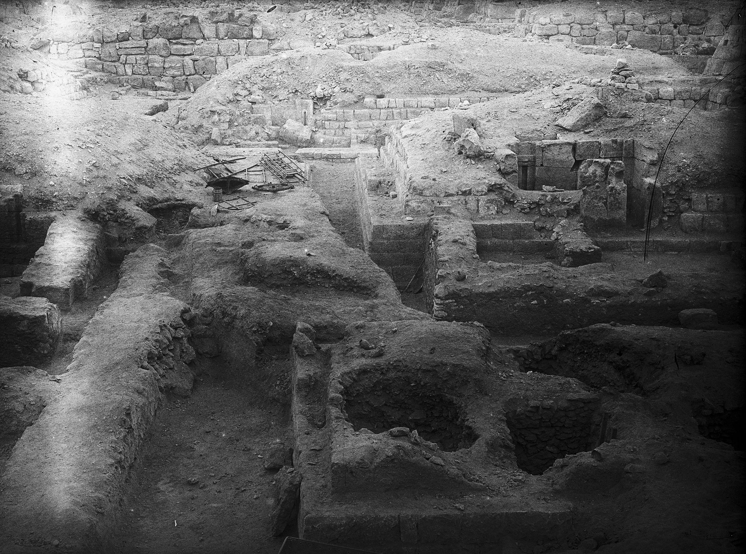 Western Cemetery: Site: Giza; View: G 5131, G 5020, G 5030, G 4930