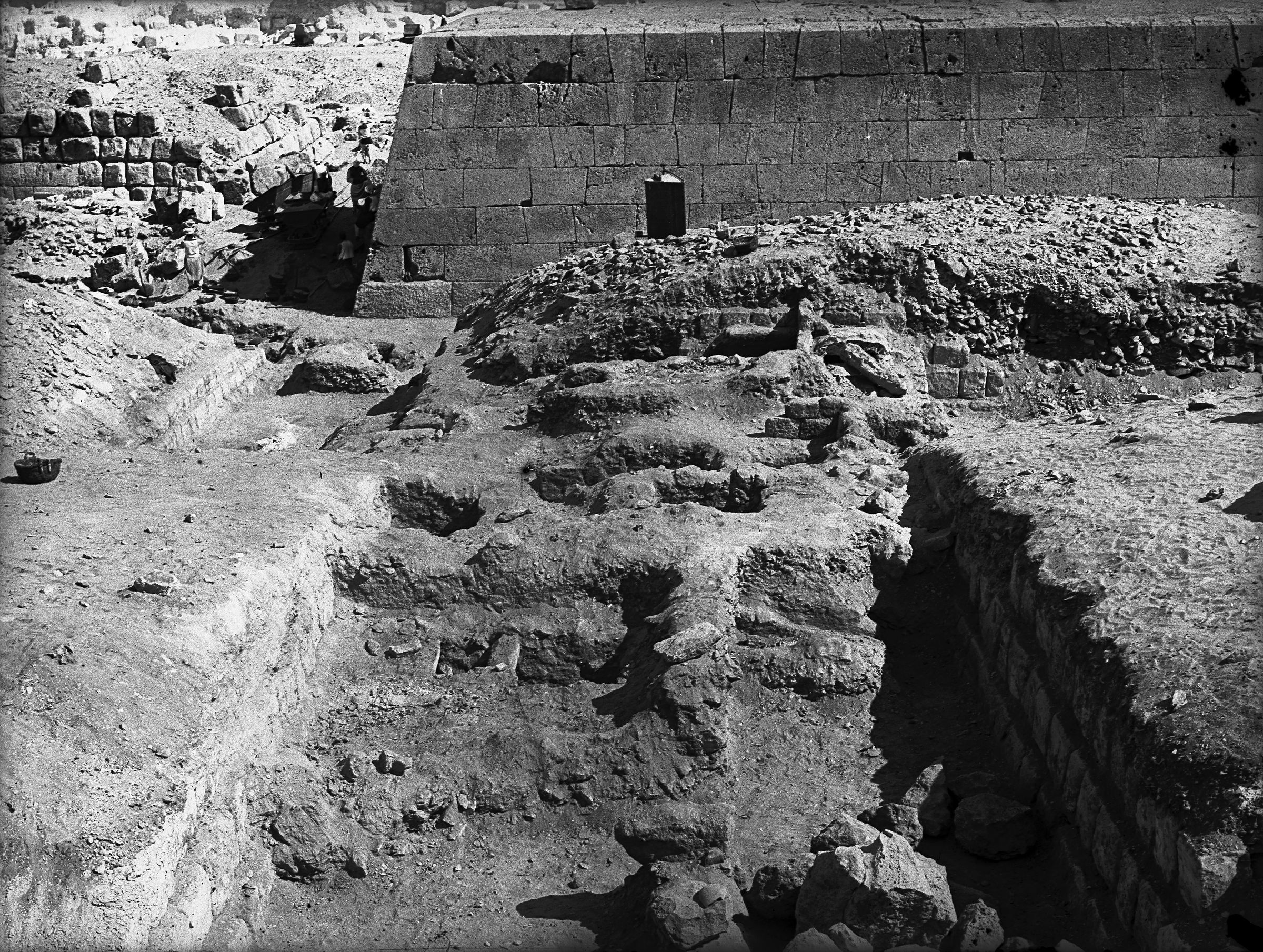 Western Cemetery: Site: Giza; View: G 5031, G 5032, G 5130, G 5230