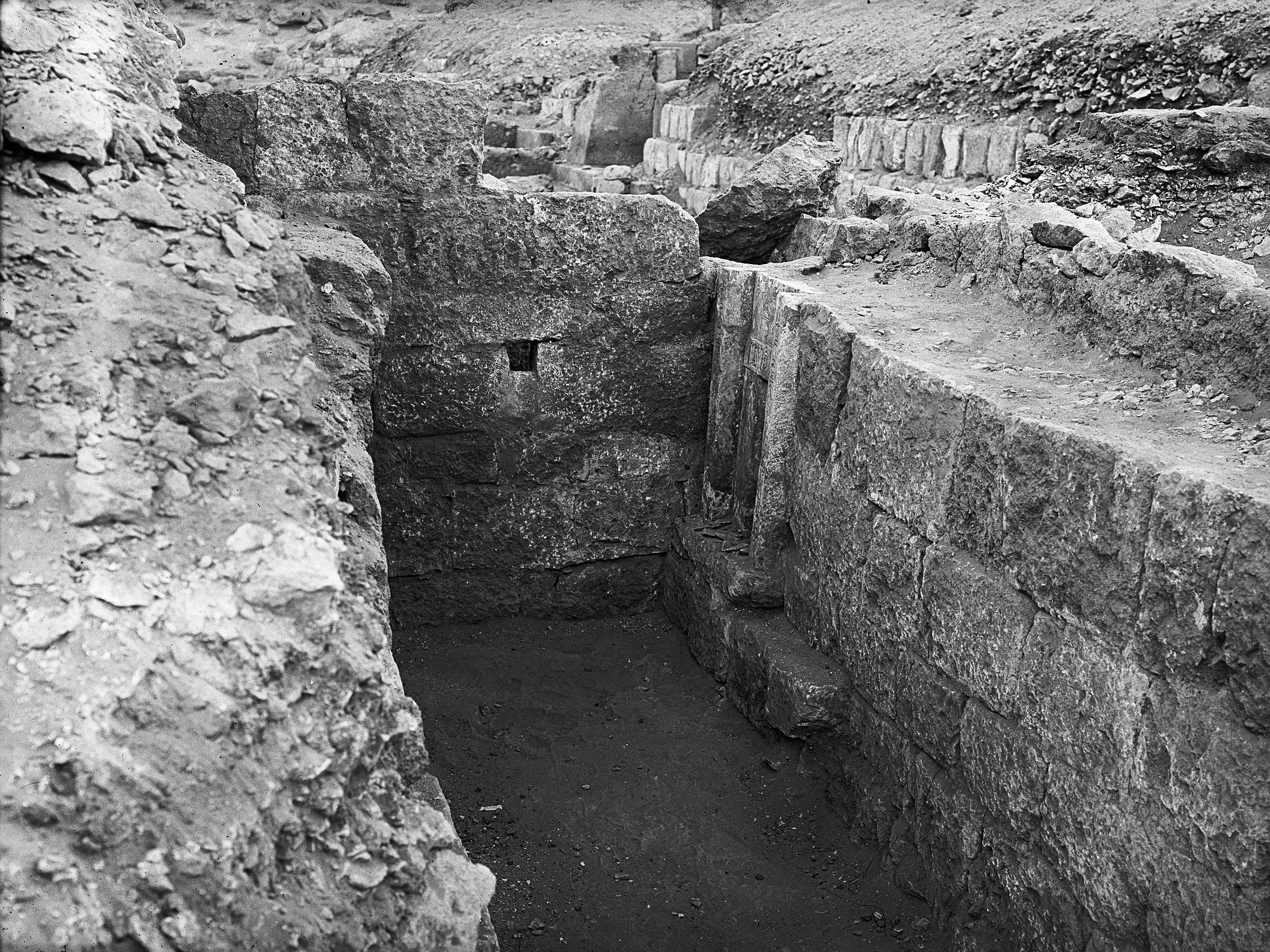 Western Cemetery: Site: Giza; View: G 5032
