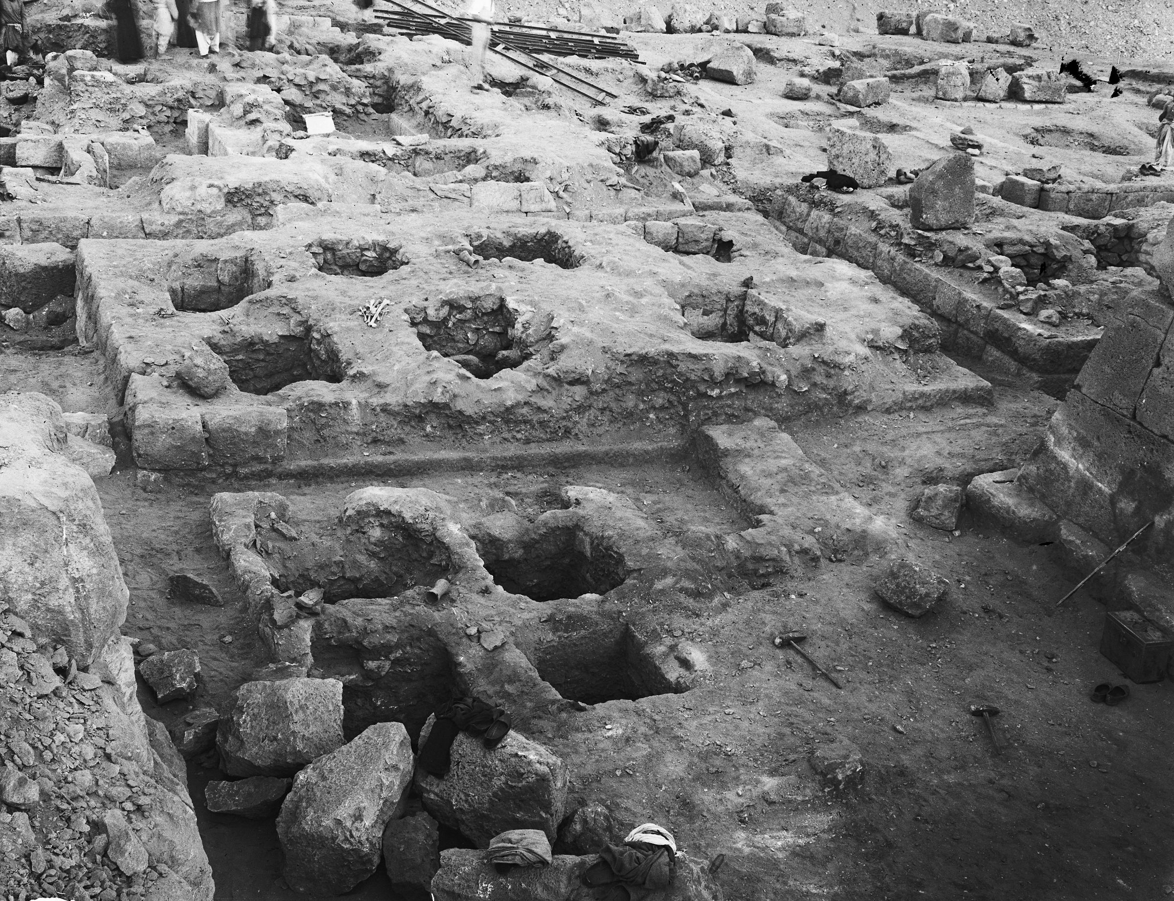Western Cemetery: Site: Giza; View: G 5236, G 5237, G 5332
