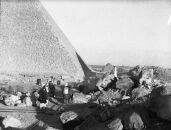 Western Cemetery: Site: Giza; View: Giza, G 4800, Khufu Pyramid