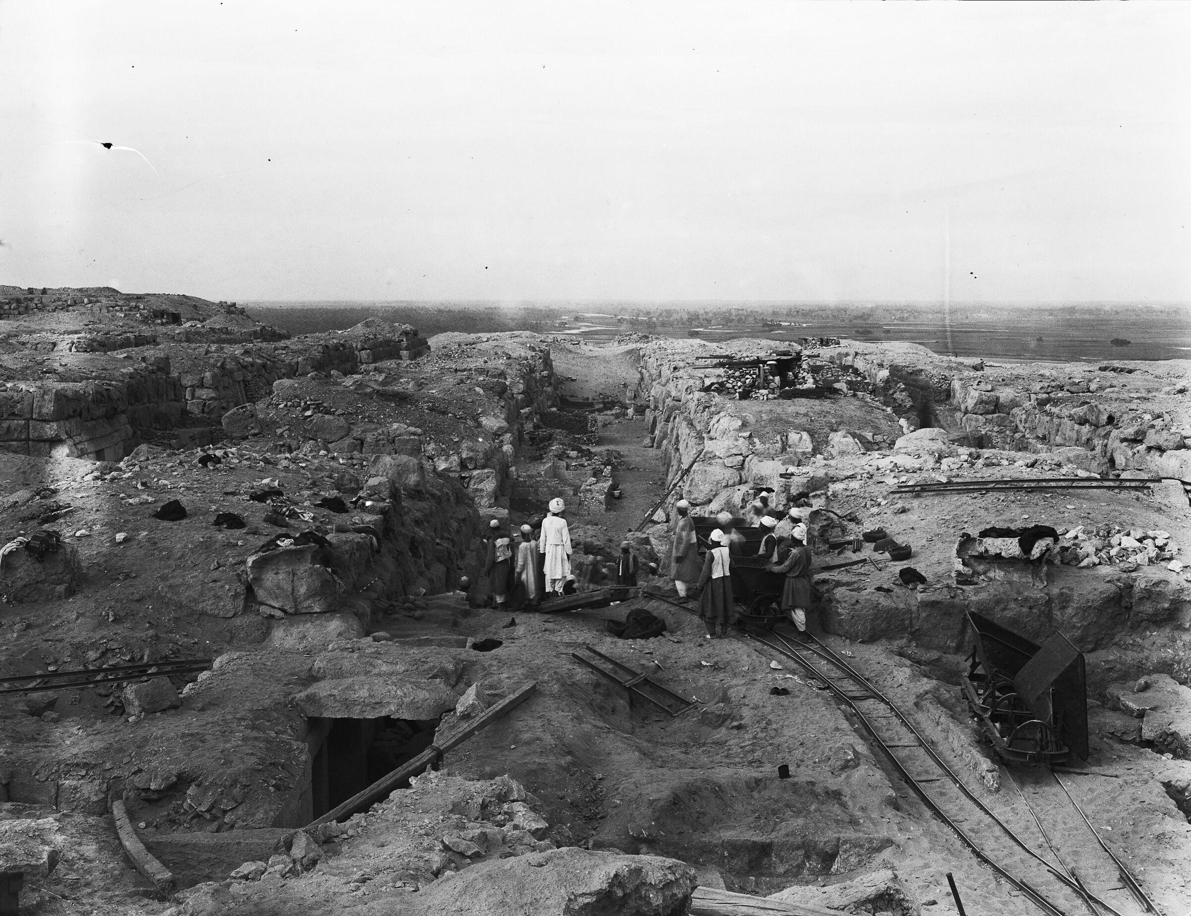 Western Cemetery: Site: Giza; View: G 4516, G 4510, G 4610, G 4512, G 4513