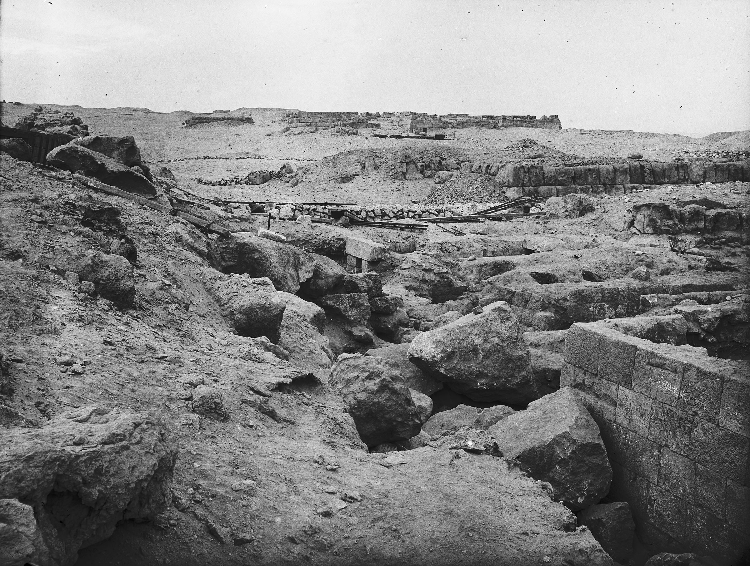 Western Cemetery: Site: Giza; View: G 4611, G 4615, G 4614, G 4512, G 4513