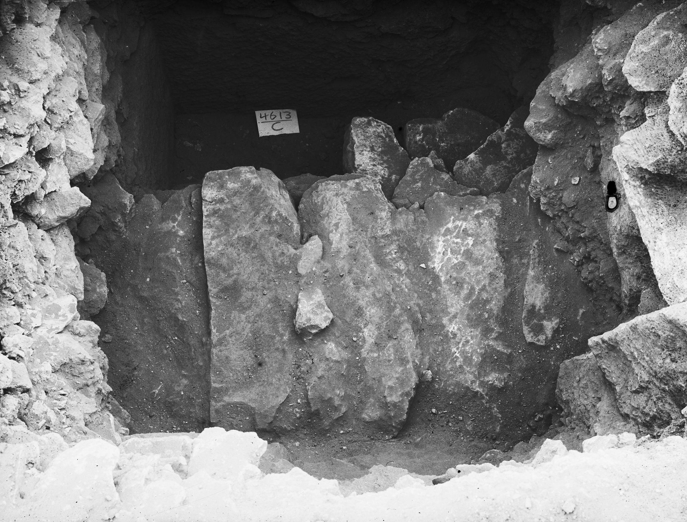 Western Cemetery: Site: Giza; View: G 4613