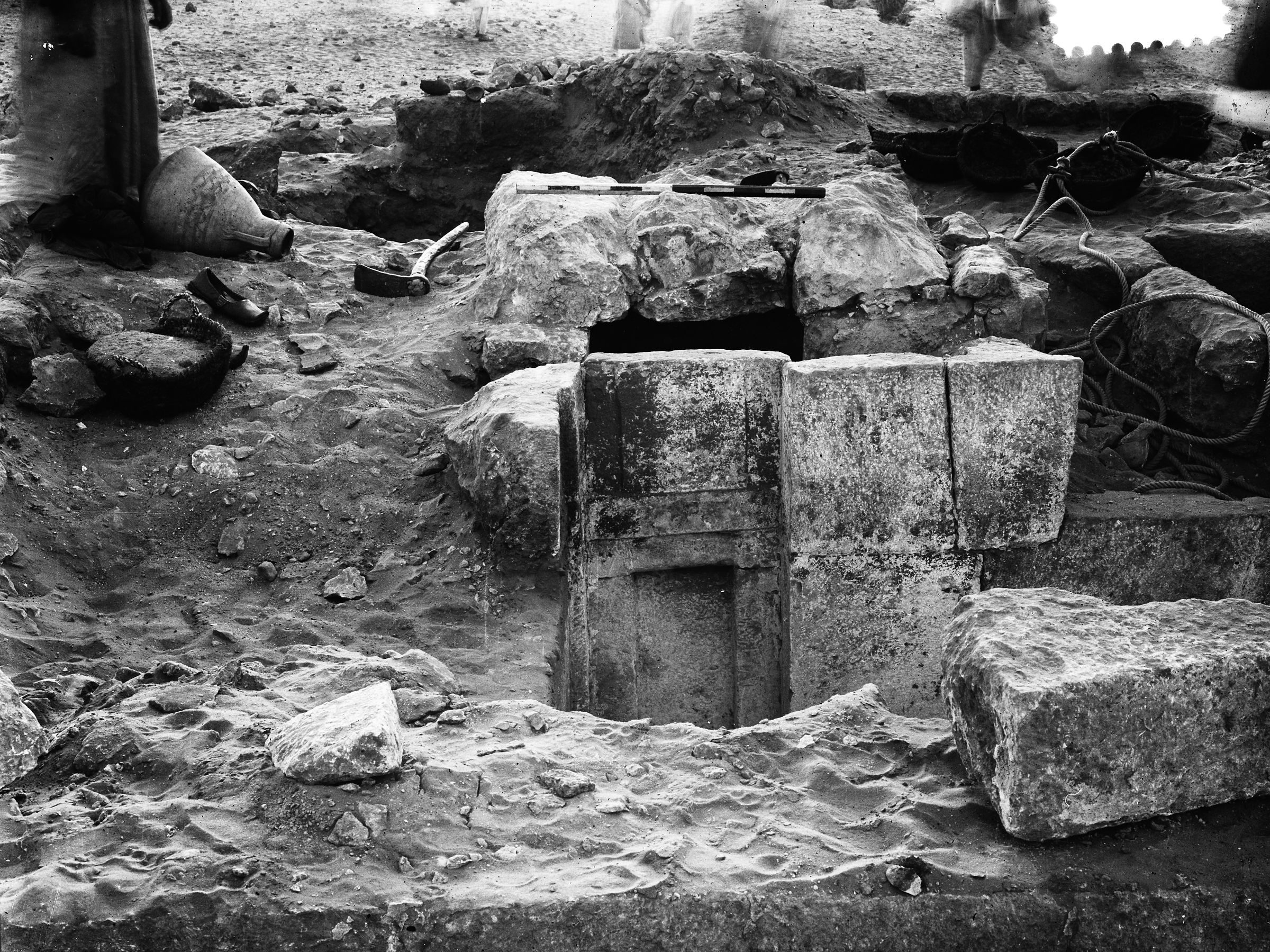 Western Cemetery: Site: Giza; View: G 3