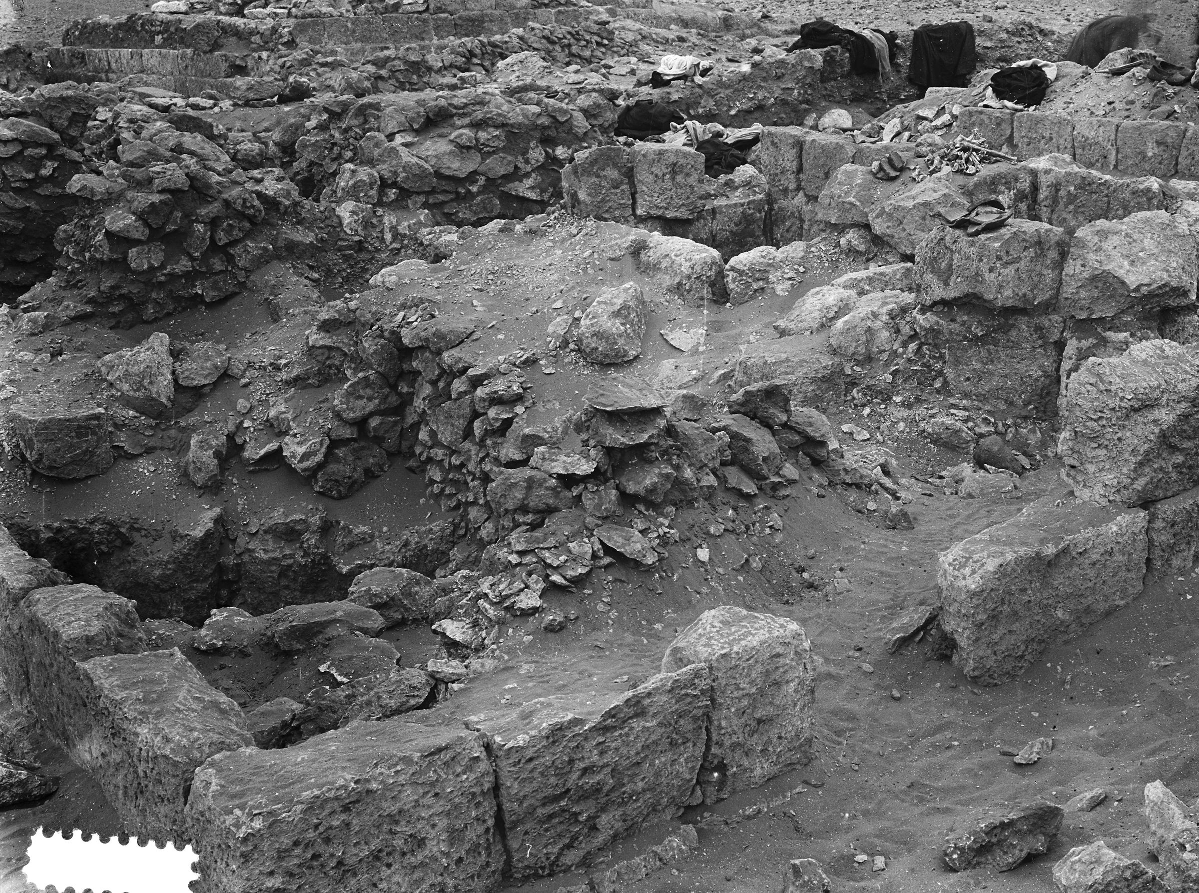 Western Cemetery: Site: Giza; View: G 1