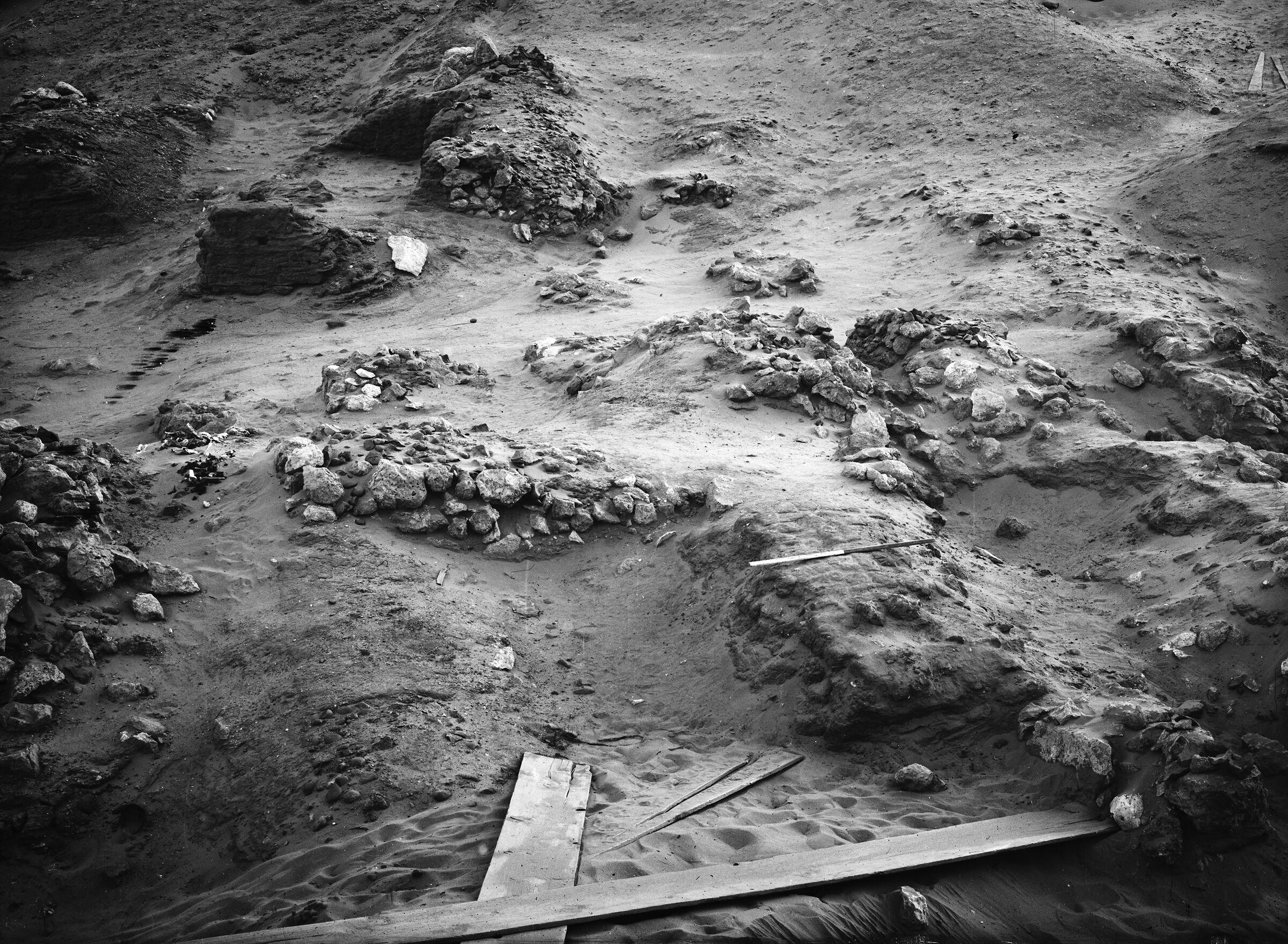 Wadi Cemetery (Reisner; north of W. Cem): Site: Giza; View: GW 16, GW 31, GW 32, GW 33, GW 34, GW 35