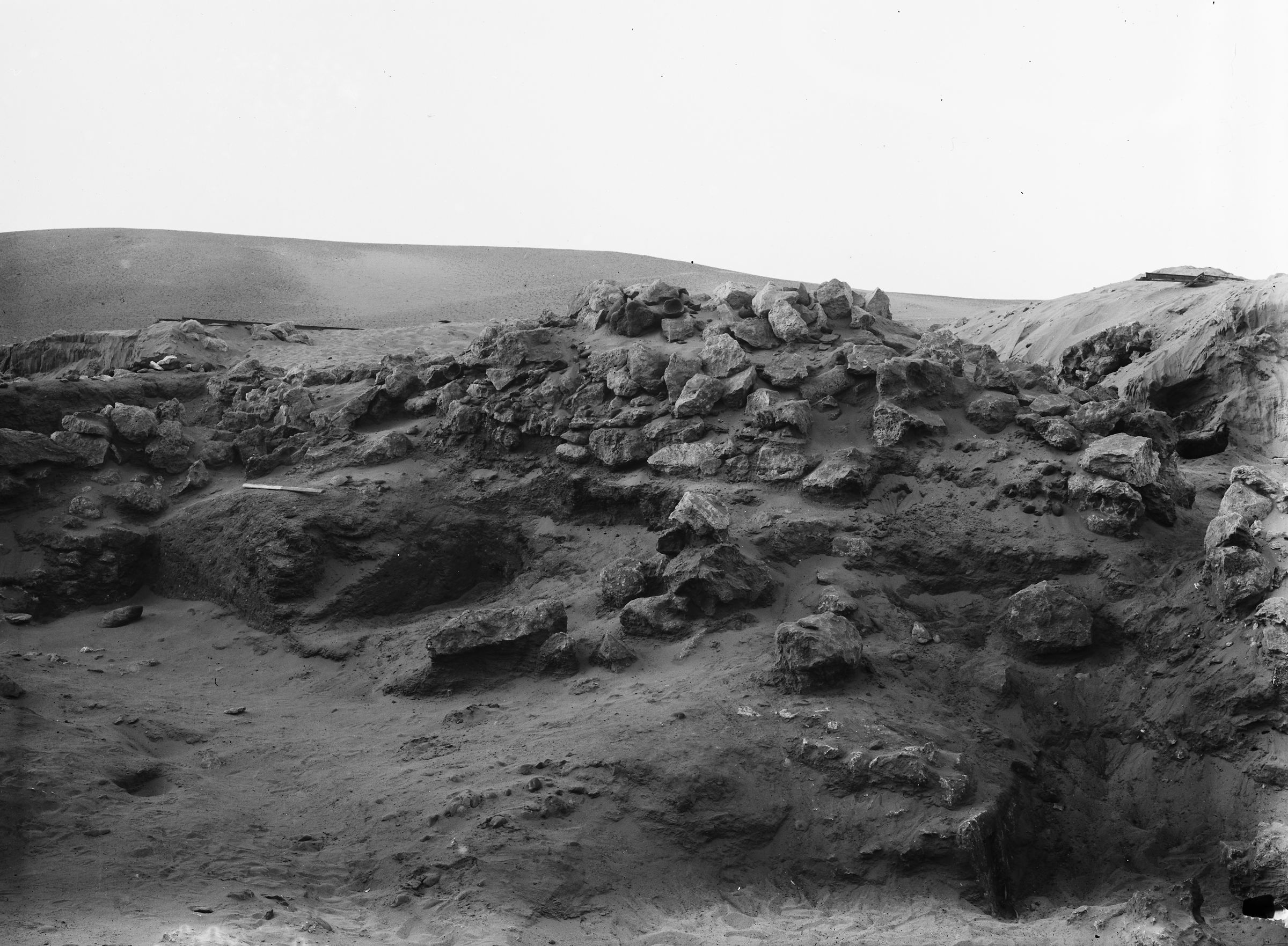 Wadi Cemetery (Reisner; north of W. Cem): Site: Giza; View: GW 3, GW 9