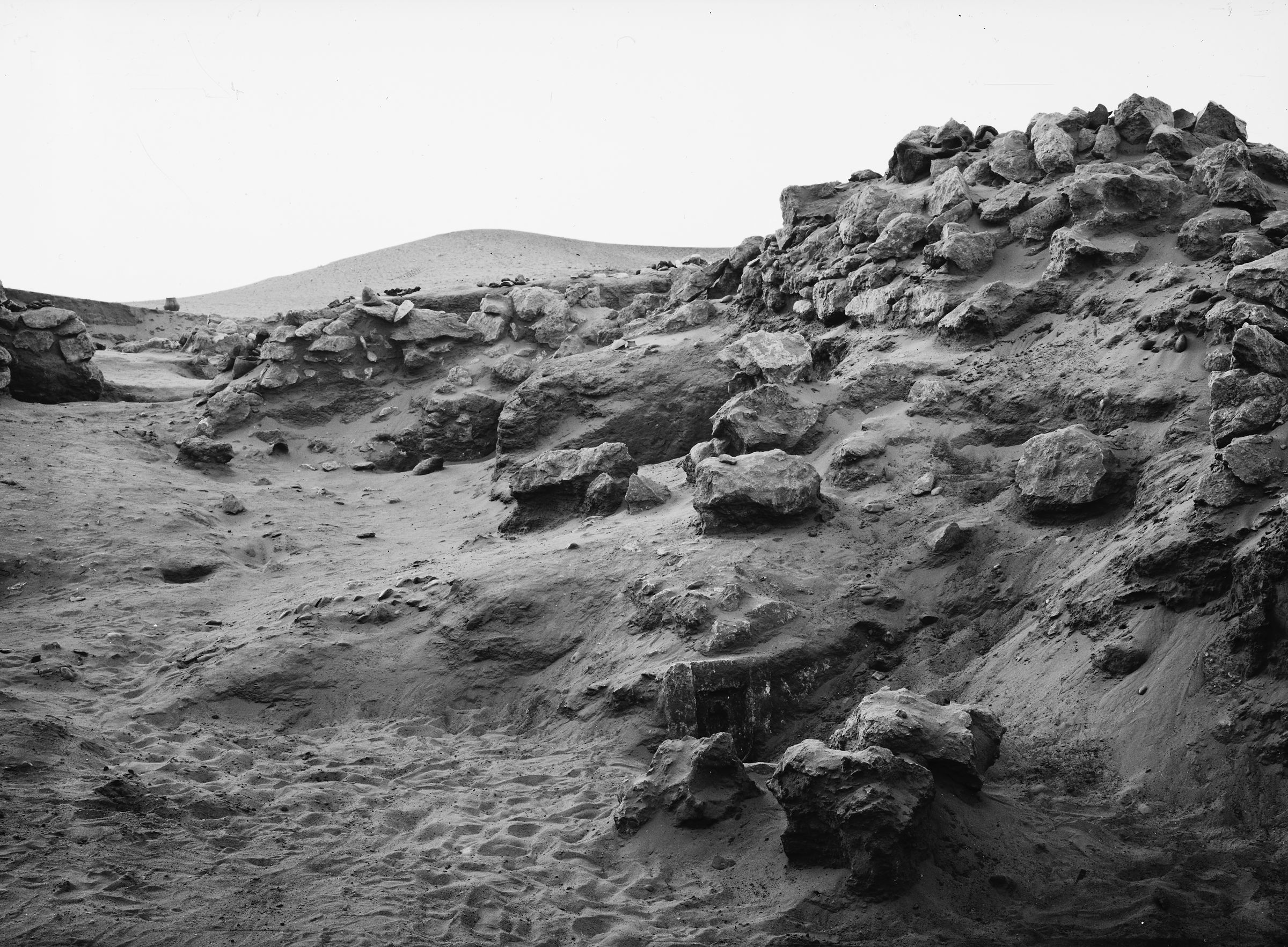 Wadi Cemetery (Reisner; north of W. Cem): Site: Giza; View: GW 3