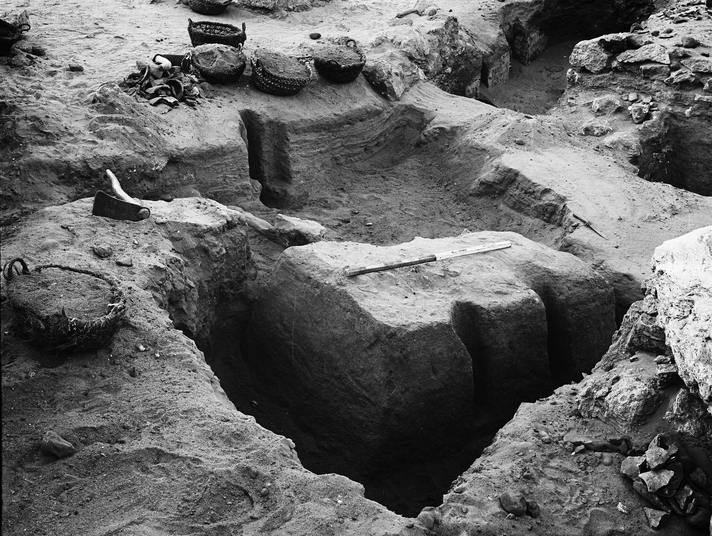 Wadi Cemetery (Reisner; north of W. Cem): Site: Giza; View: GW 20, GW 22, GW 26, GW 27, GW 28, GW 29, GW 30