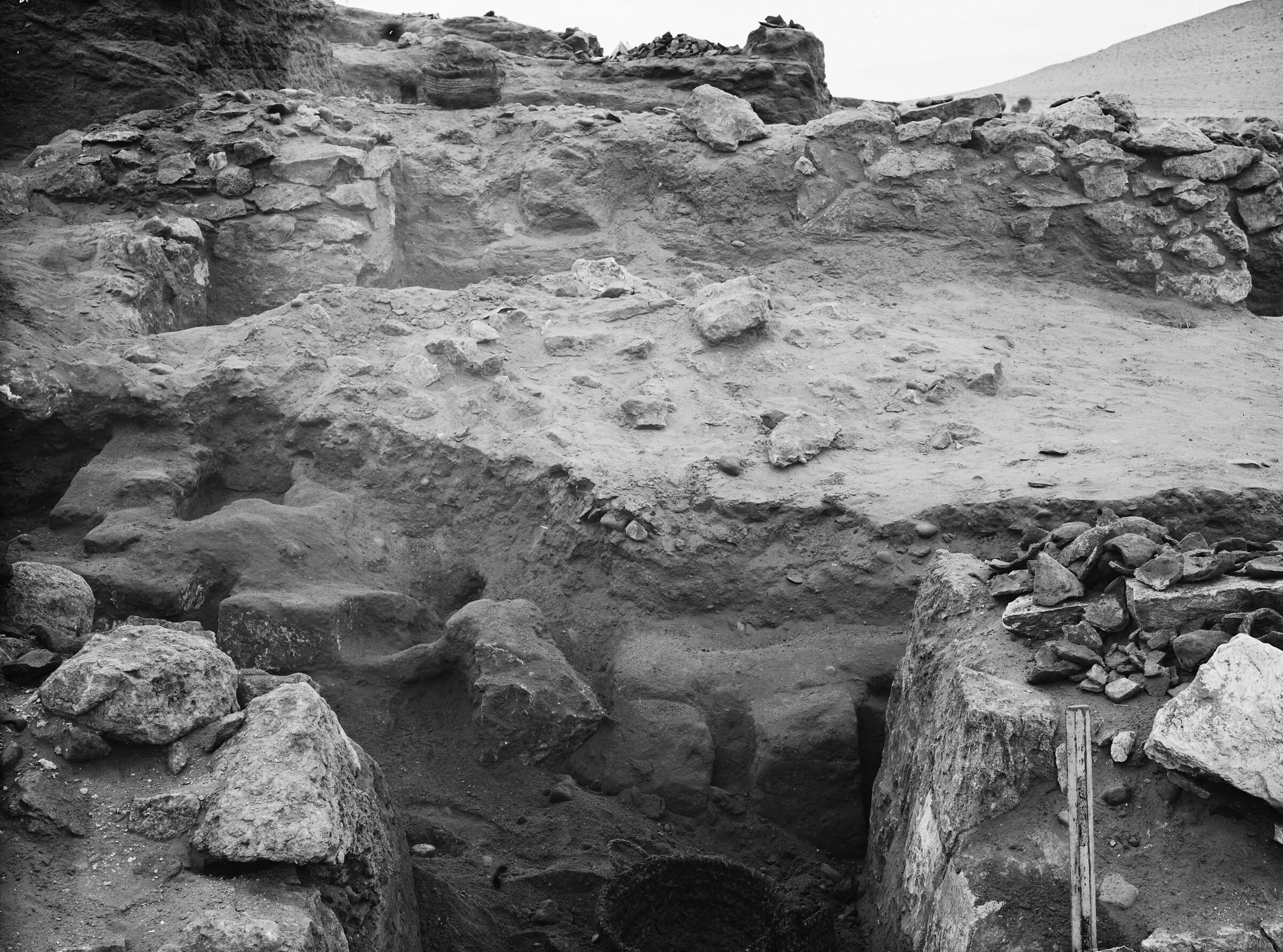 Wadi Cemetery (Reisner; north of W. Cem): Site: Giza; View: GW 6, GW 7, GW 12
